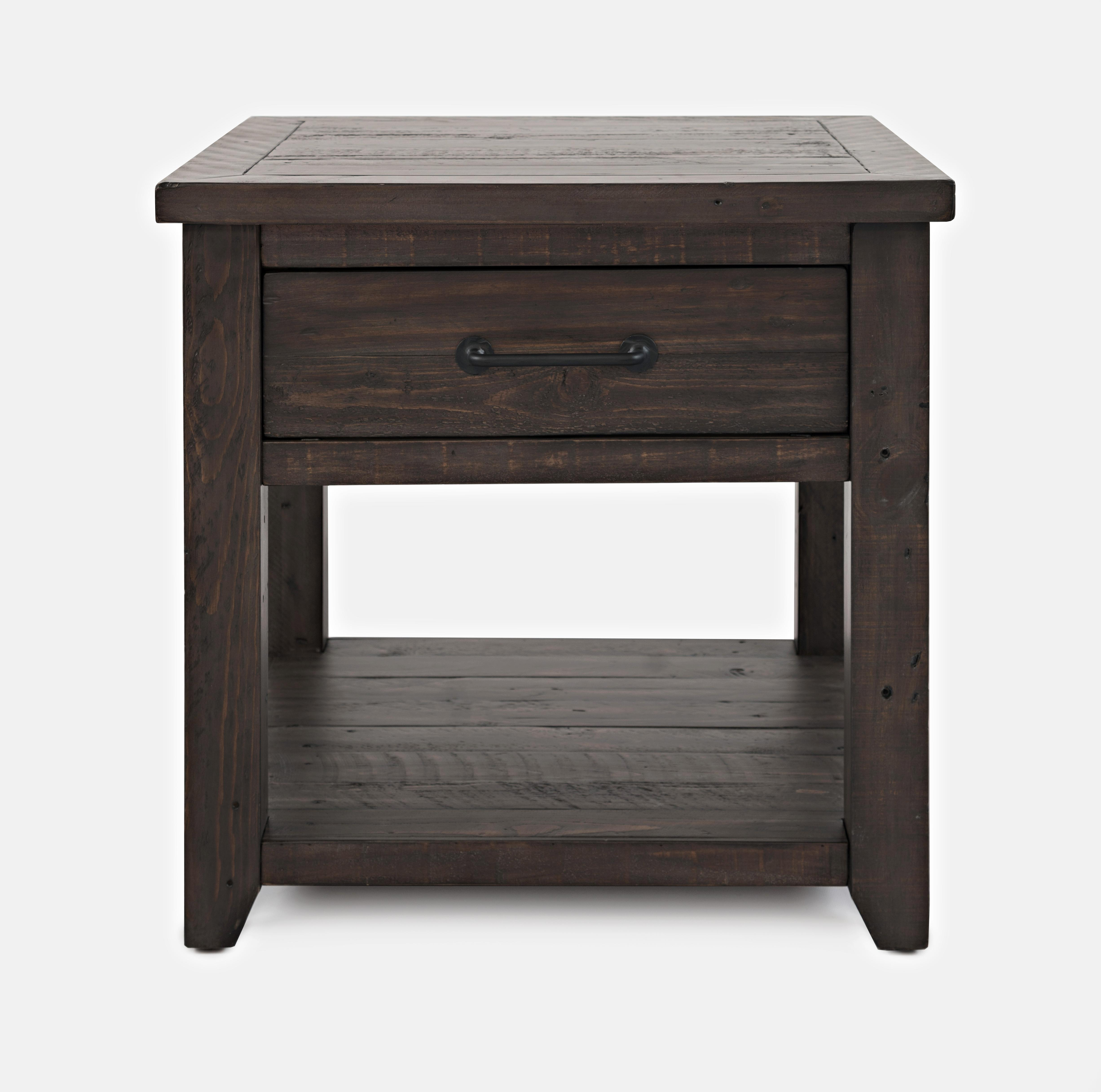 Surprising Jofran Furniture Madison County Harris Barnwood End Table Interior Design Ideas Gentotryabchikinfo