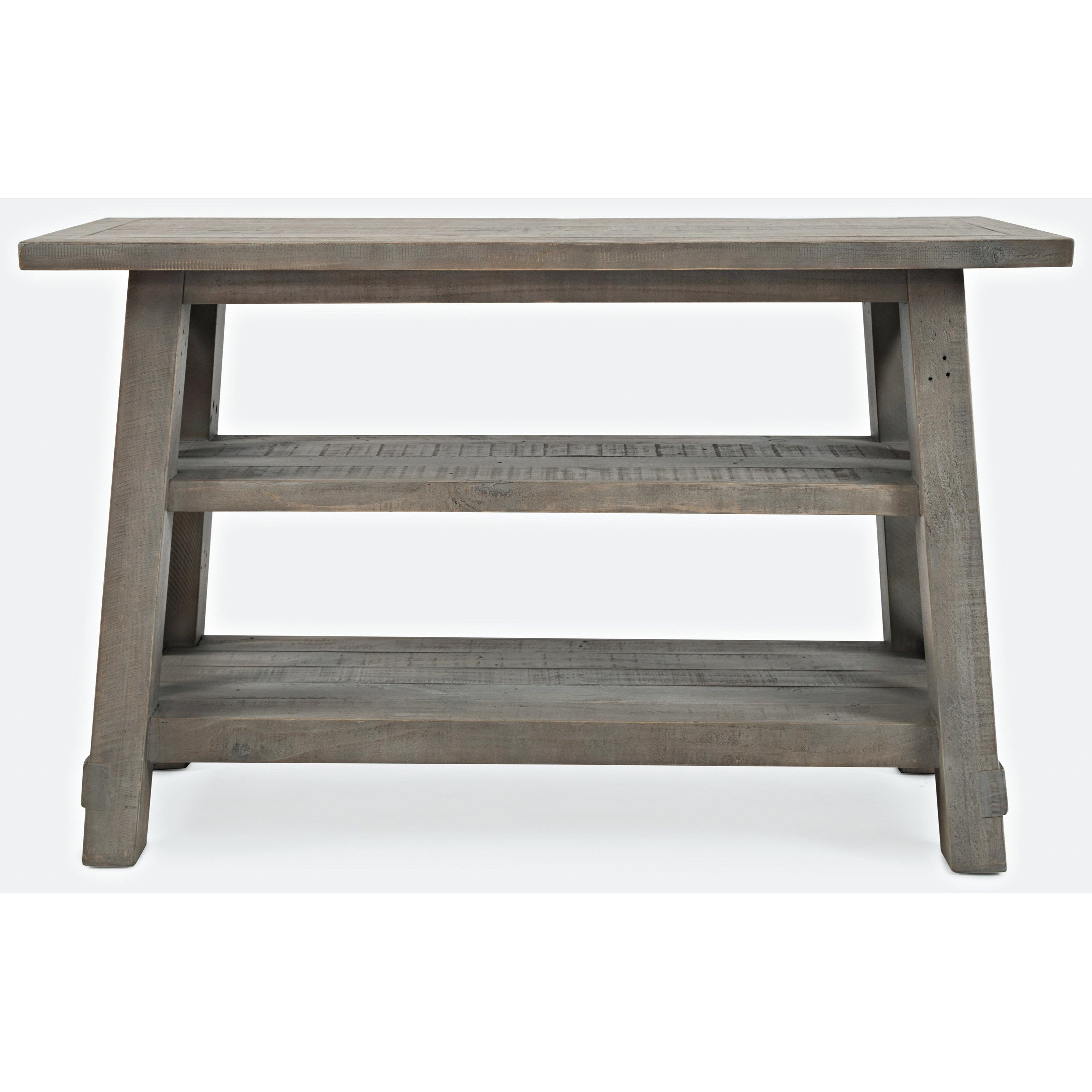 Jofran Furniture Outer Banks Driftwood Sofa Table
