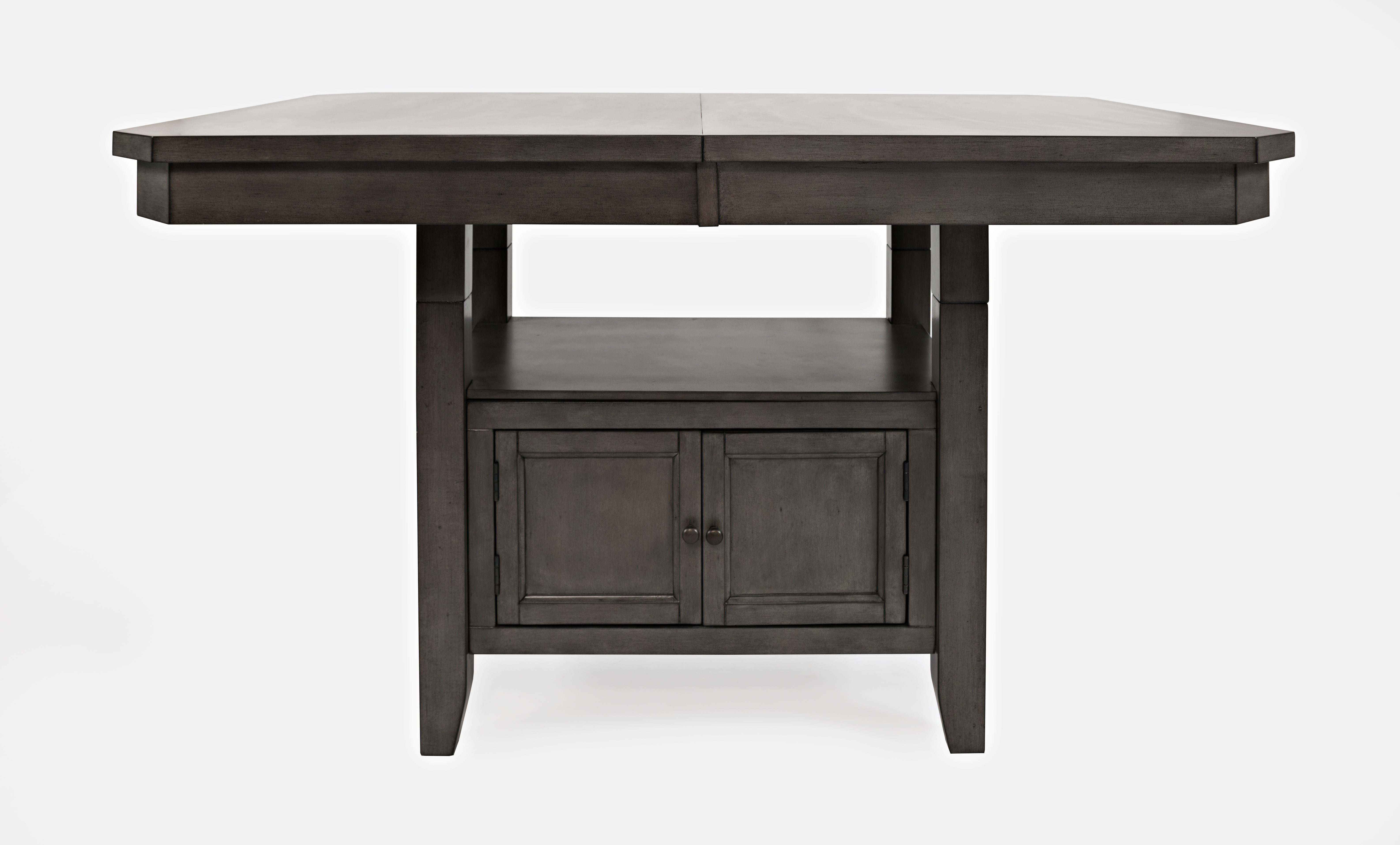 Marvelous Jofran Furniture Manchester Grey High Low Rectangle Dining Table Gmtry Best Dining Table And Chair Ideas Images Gmtryco