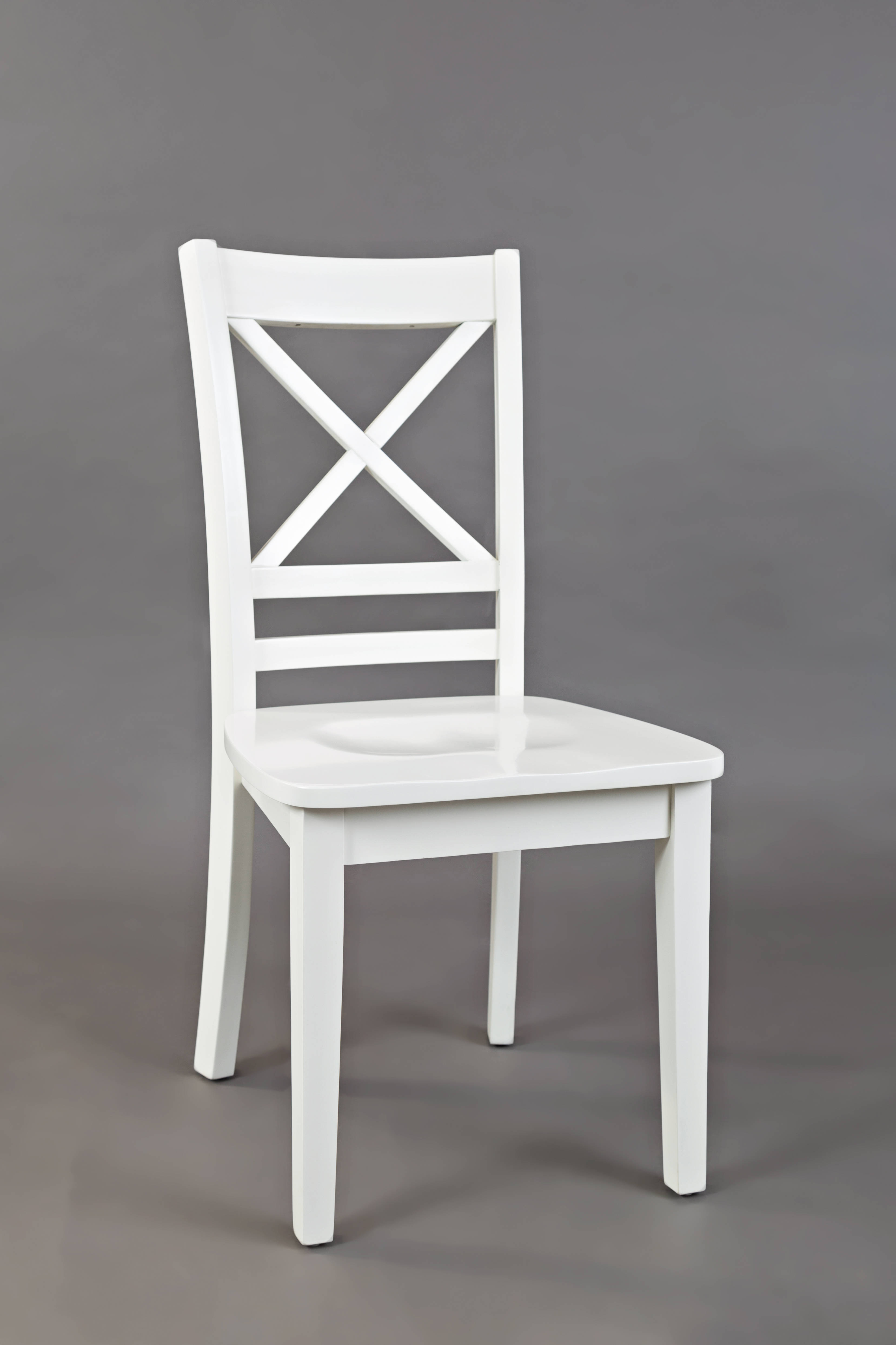 Groovy 2 Jofran Furniture Simplicity Paper White X Back Dining Chairs Ibusinesslaw Wood Chair Design Ideas Ibusinesslaworg