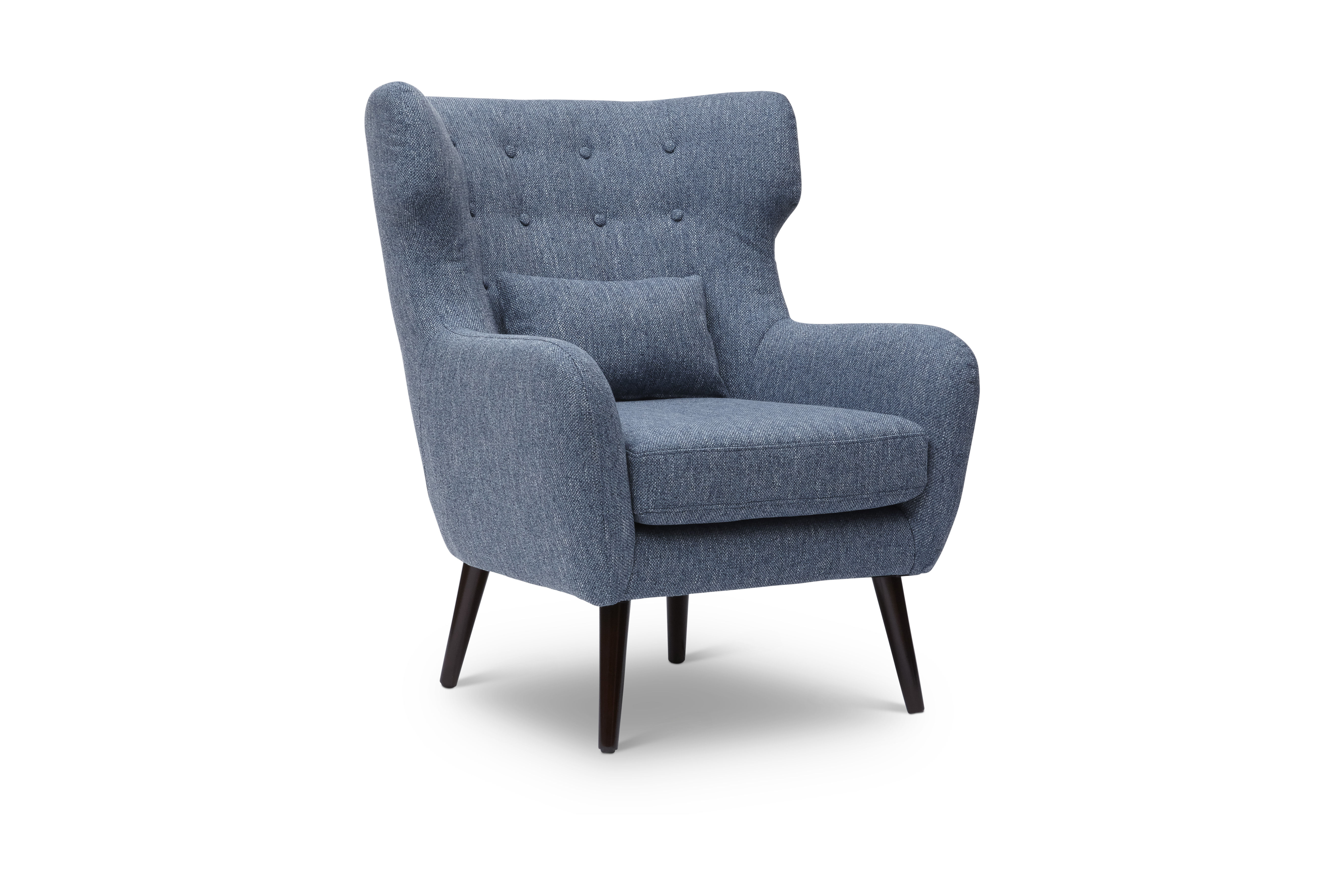 Blue Modern Accent Chairs.Jofran Furniture Ava Blue Modern Accent Chair The Classy Home