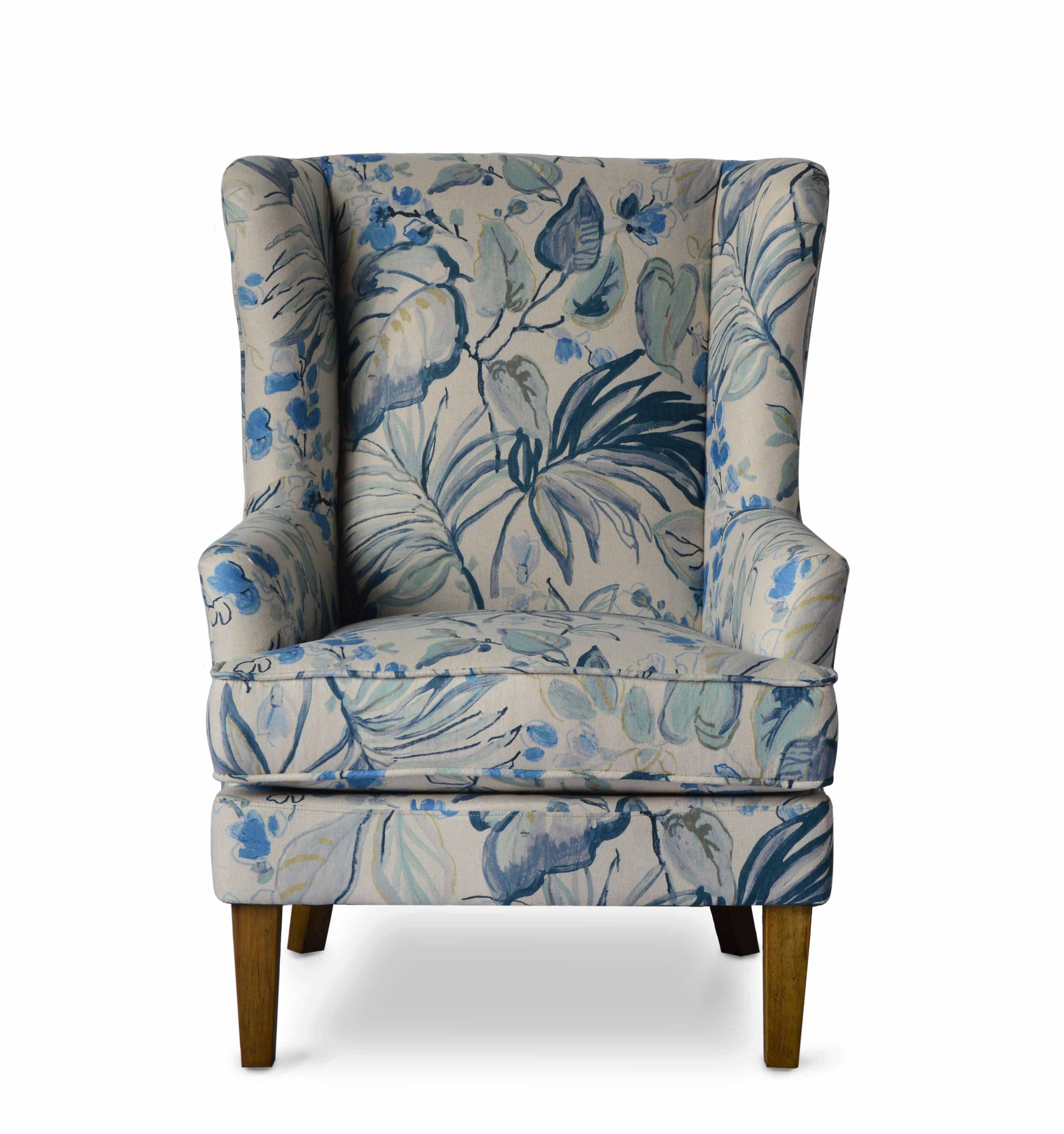Terrific Jofran Furniture Gabriela Blue Accent Chair The Classy Home Gamerscity Chair Design For Home Gamerscityorg