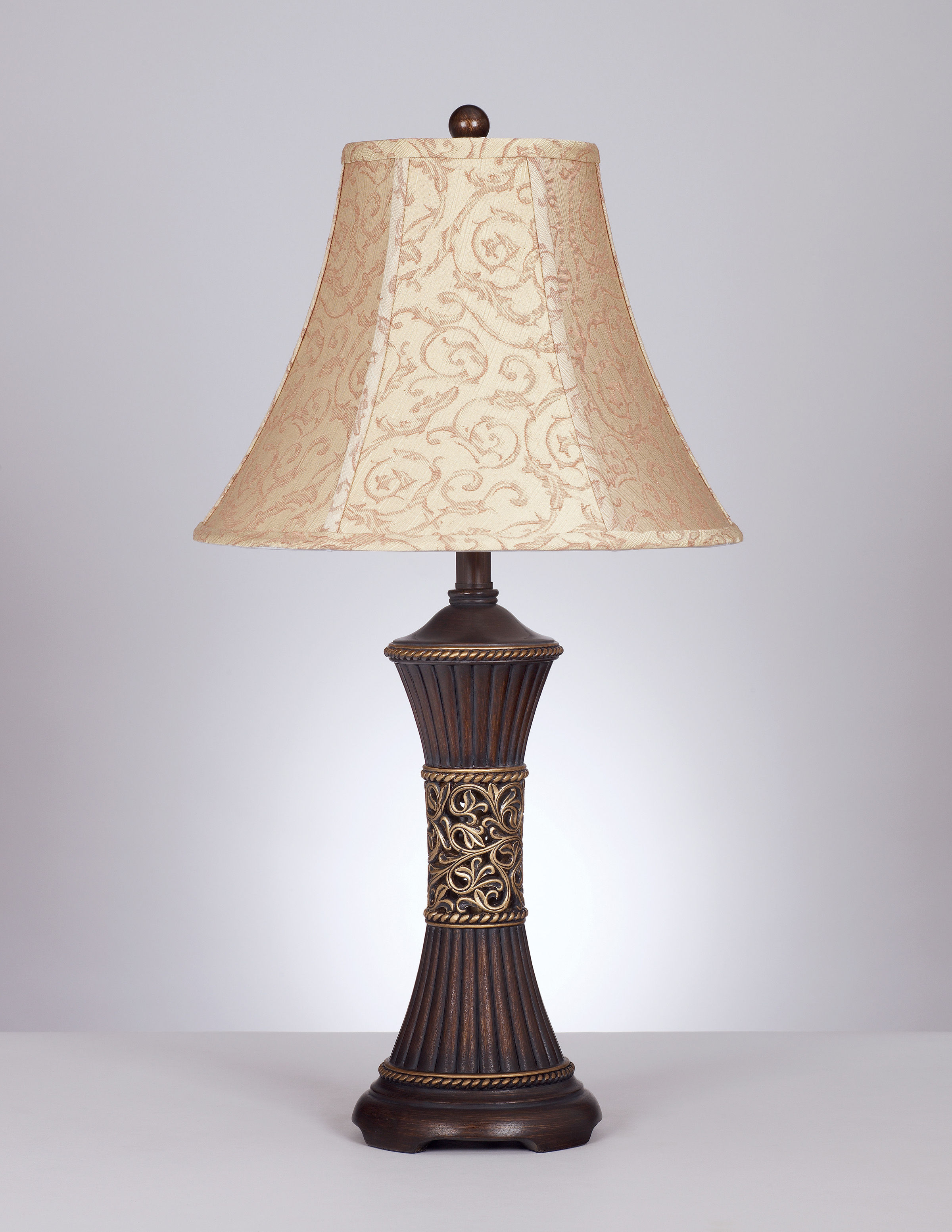 2 Ashley Furniture Mariana Bronze Table Lamps The Classy Home