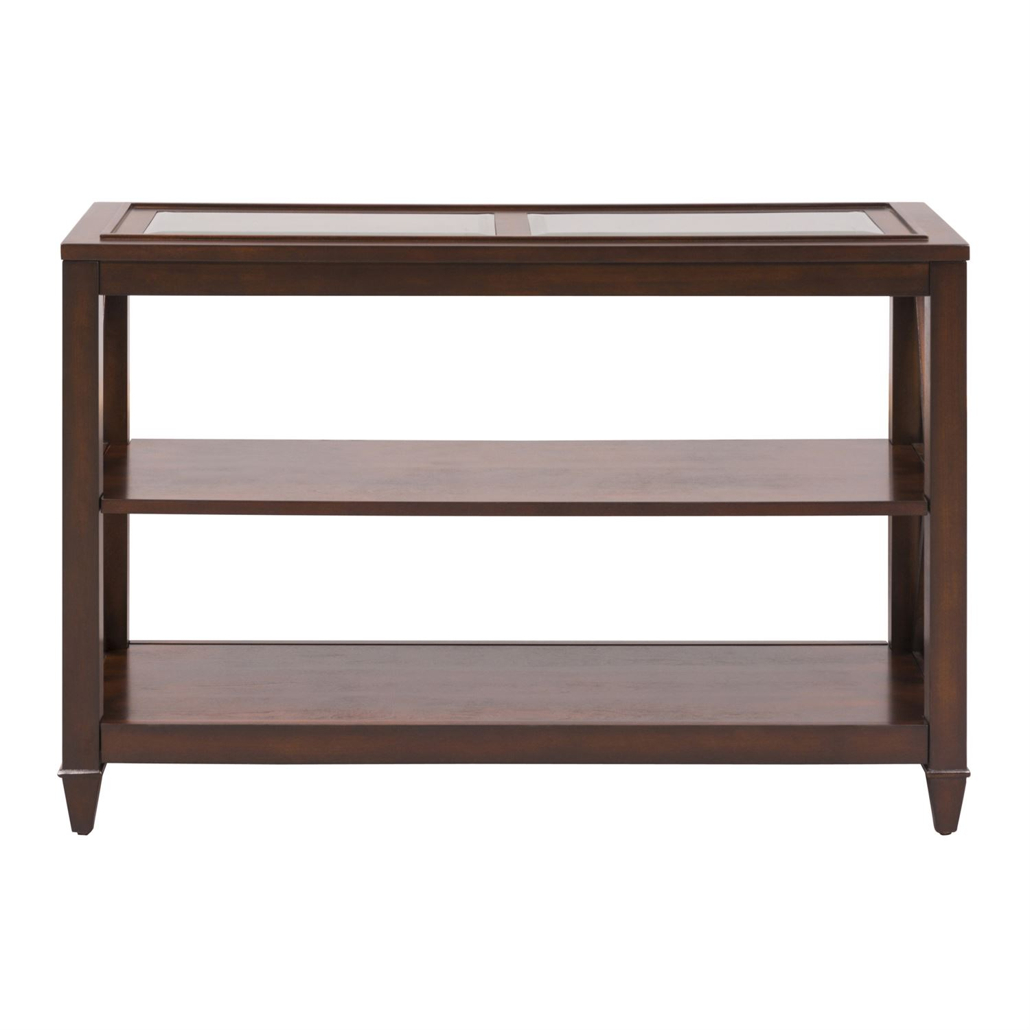 Liberty Caroline Espresso Sofa Table