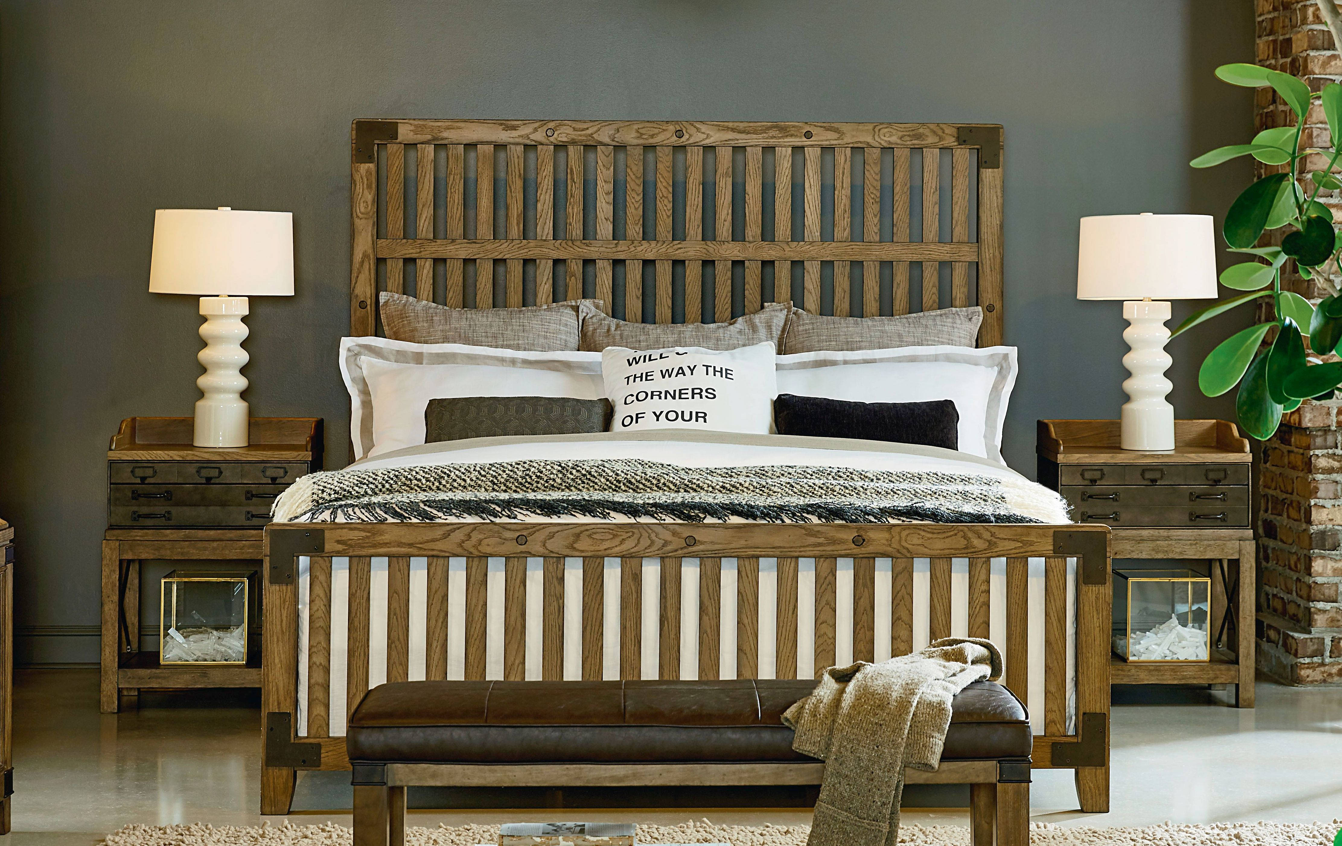 Legacy Furniture Metalworks 2pc Bedroom Set with Cal King Bed | The ...