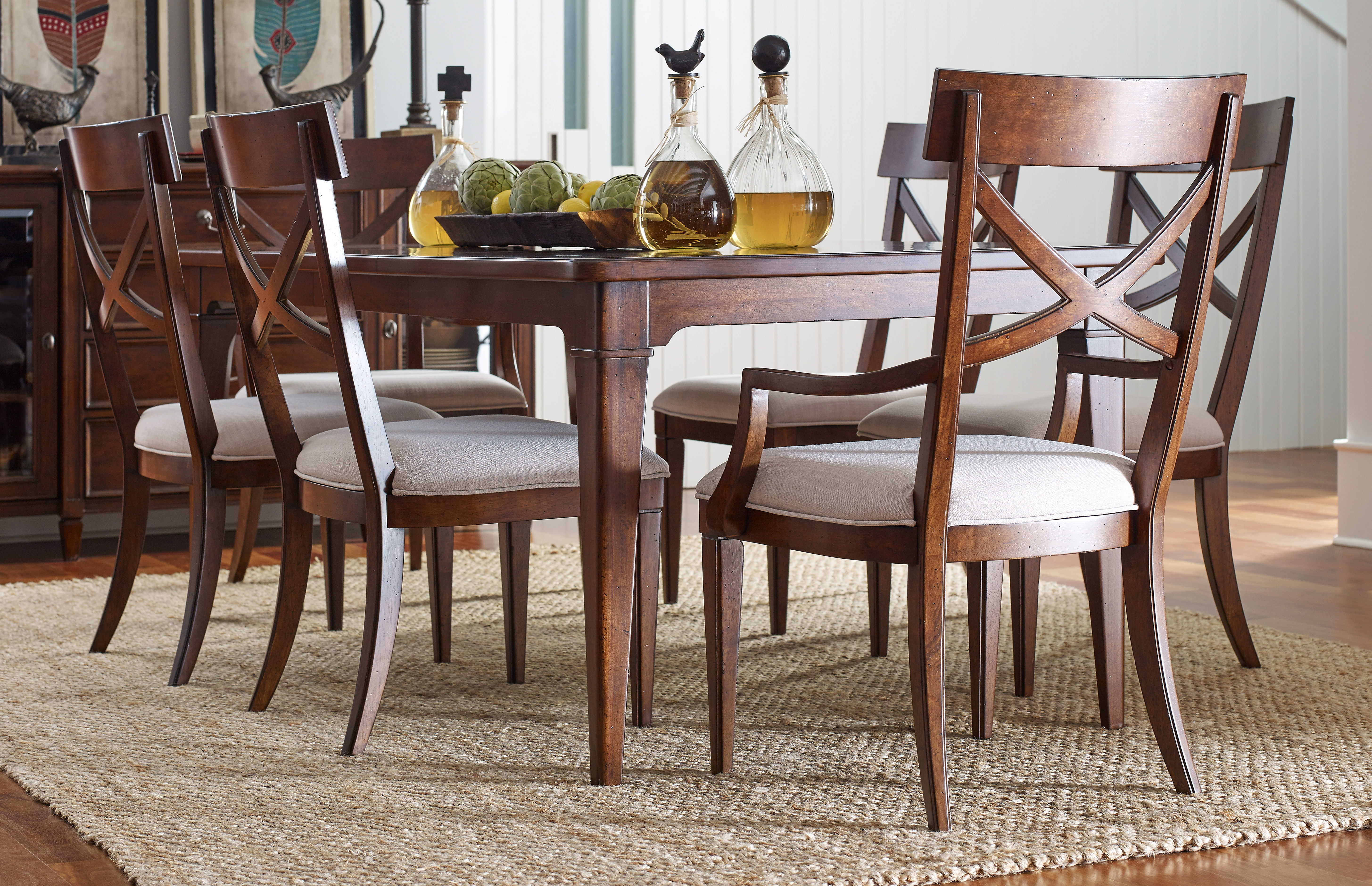 Awe Inspiring Legacy Furniture Upstate By Rachael Ray Pearl Conciare 7Pc Bralicious Painted Fabric Chair Ideas Braliciousco
