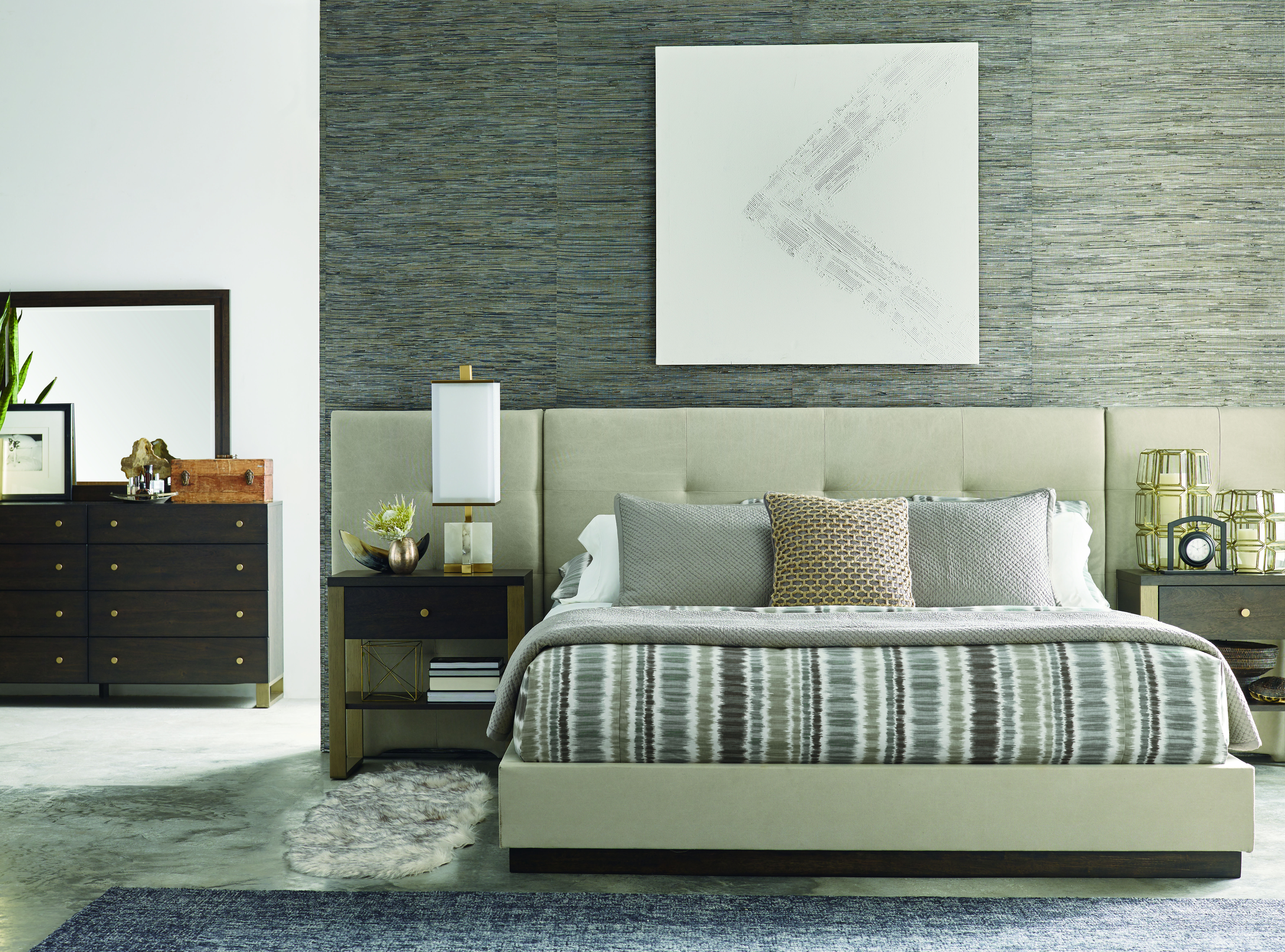 Legacy Furniture Austin Acacia 2pc Bedroom Set With Queen ...