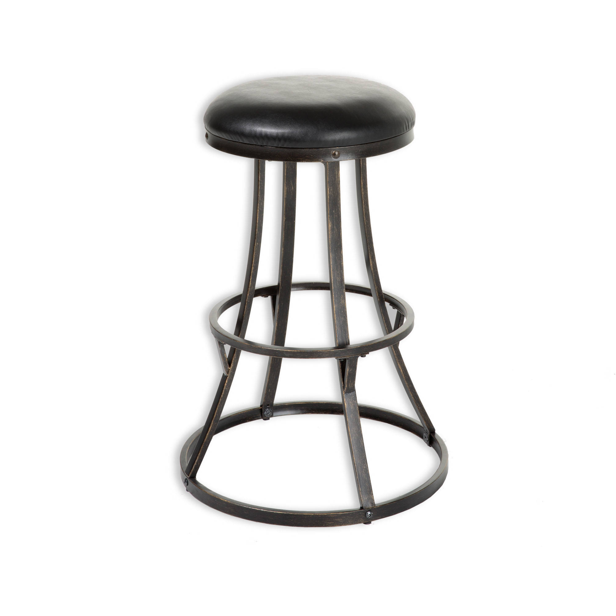 Leggett And Platt Dover Black 26 Inch Bar Stool The Classy Home