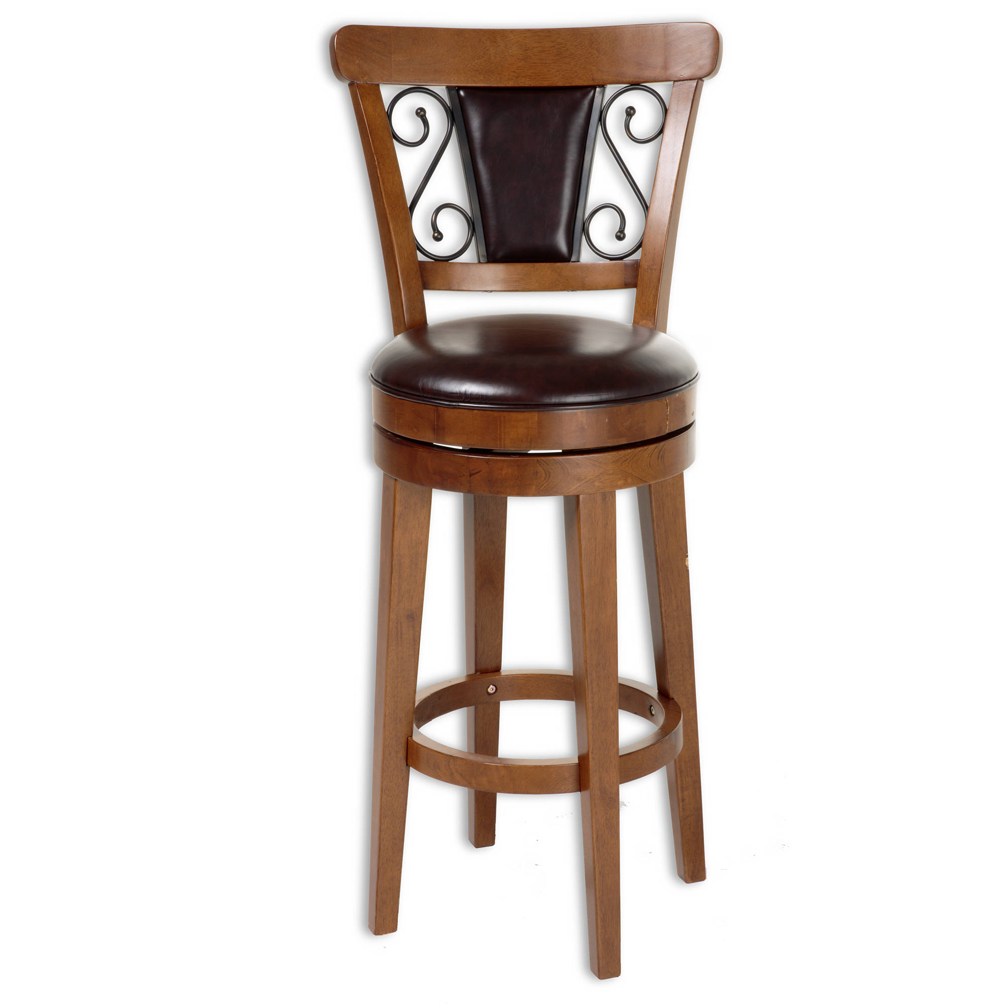 Leggett And Platt Trenton Faux Leather 30 Inch Bar Stool The