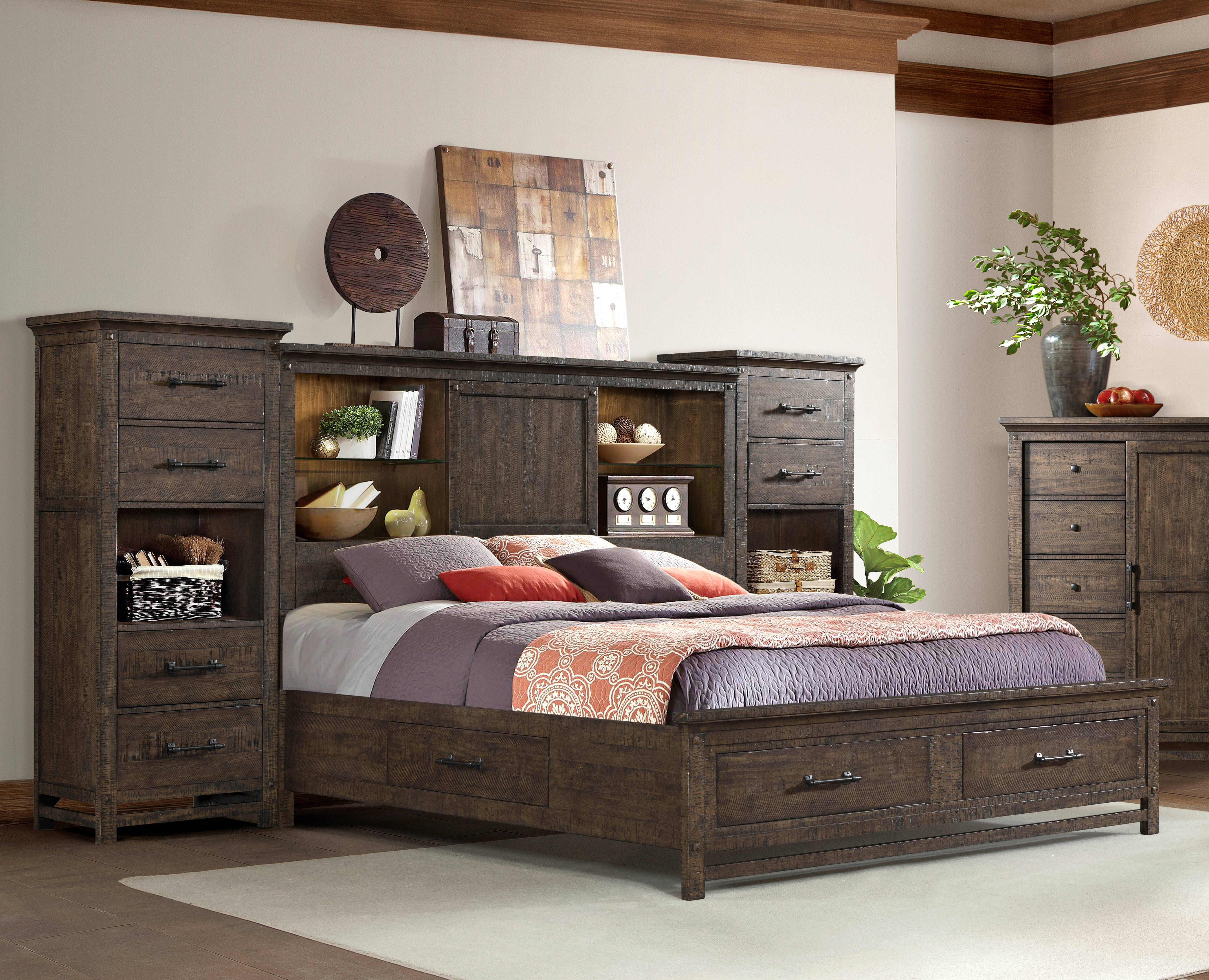 Whiskey Queen Wall Bed