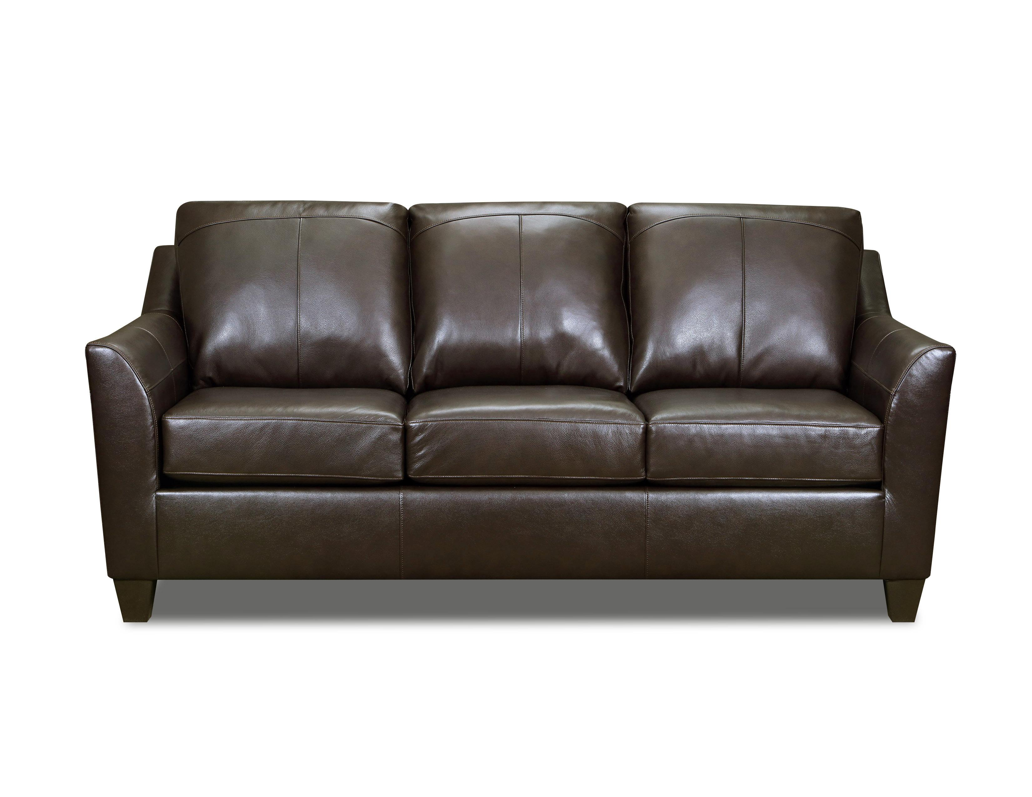 Lane Furniture Soft Touch Bark Leather Sofa