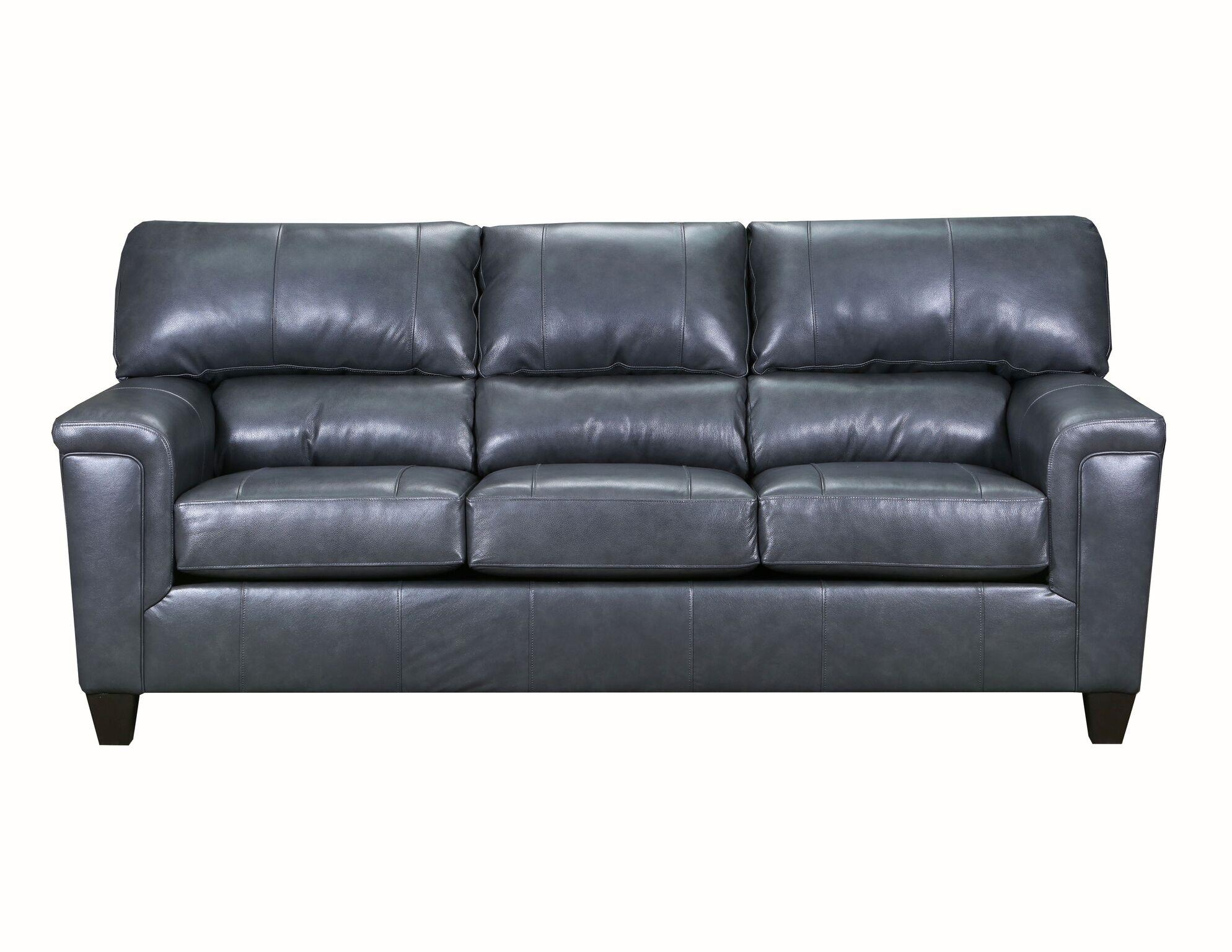 Lane Furniture Soft Touch Fog Leather Sofa Click To Enlarge