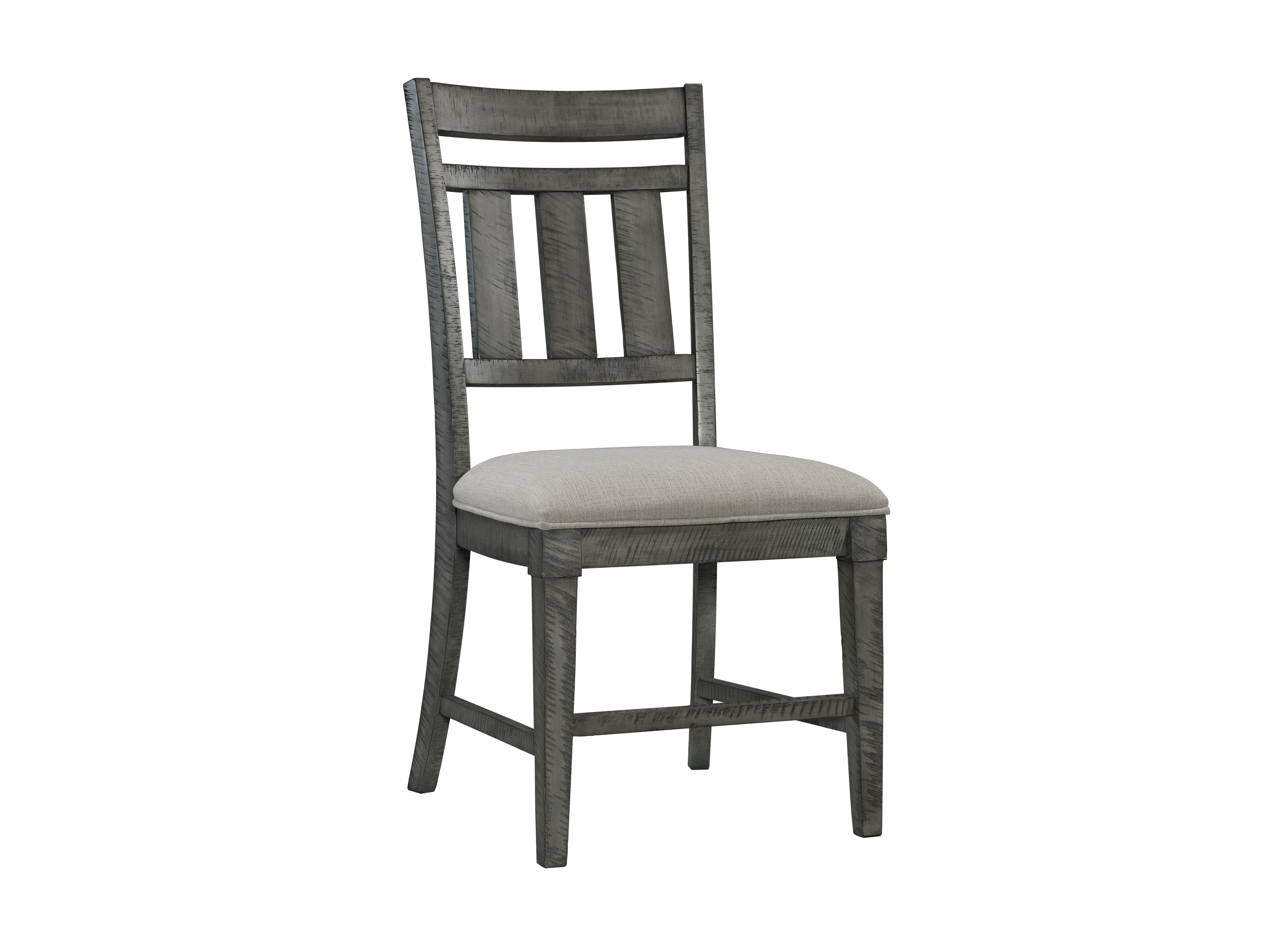 Stupendous 2 Lane Furniture Old Forge Grey Dining Chairs Gmtry Best Dining Table And Chair Ideas Images Gmtryco