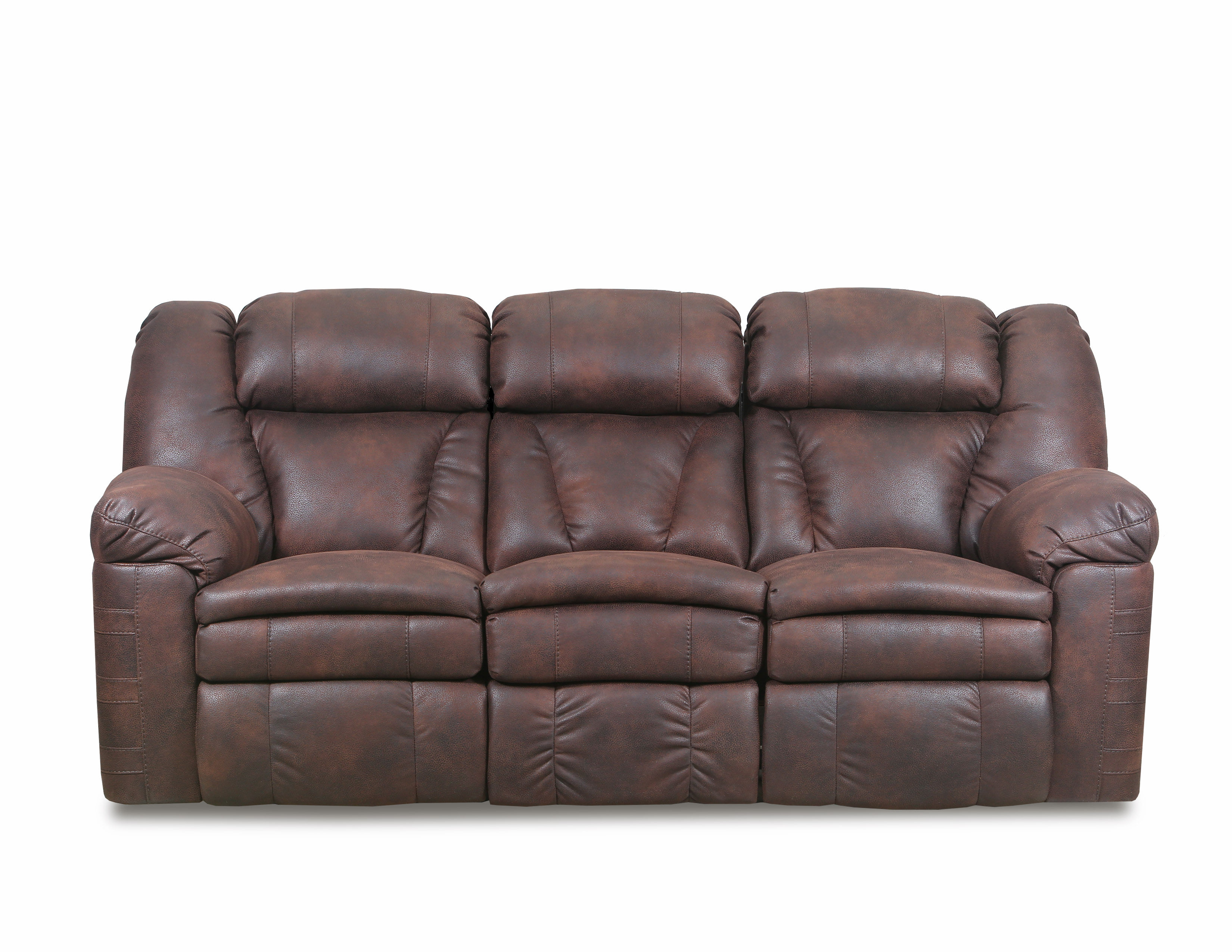 Bowen Redwood Leather Reclining Sofa