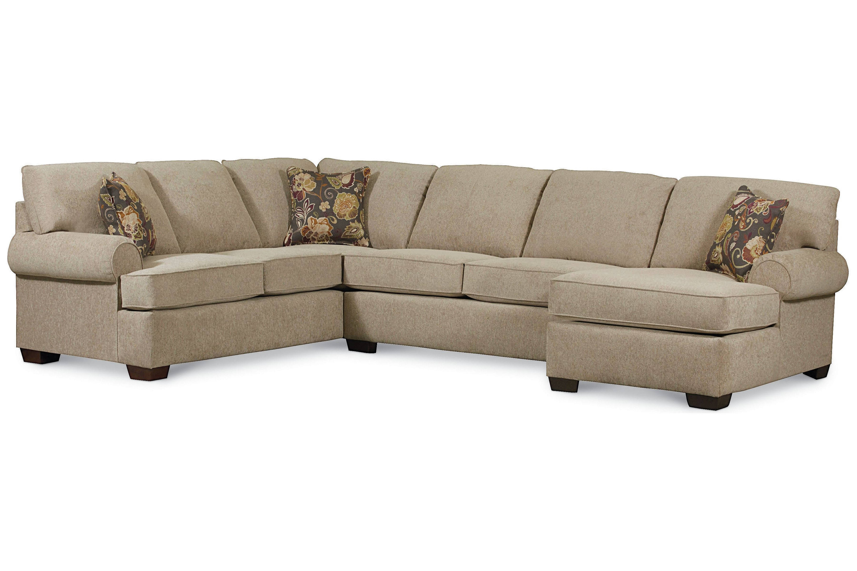 Vivian Tan Sectional With Raf Chaise