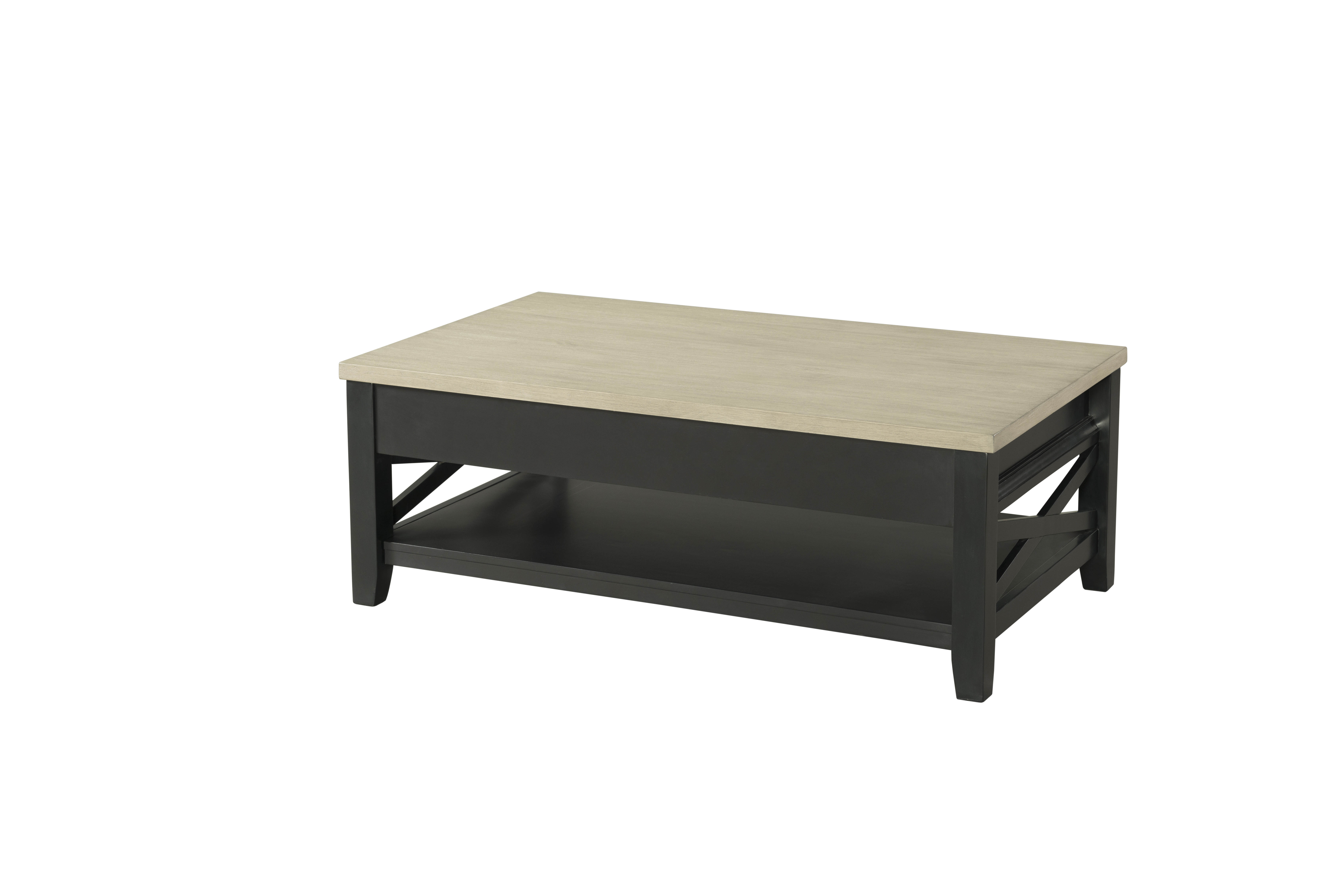 Lane Furniture Grey Black Lift Top Cocktail Table The Classy Home