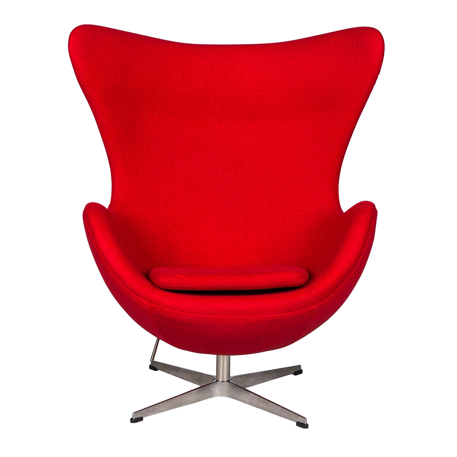 Leisuremod Arne Jacobsen Red Egg Chair Click To Enlarge