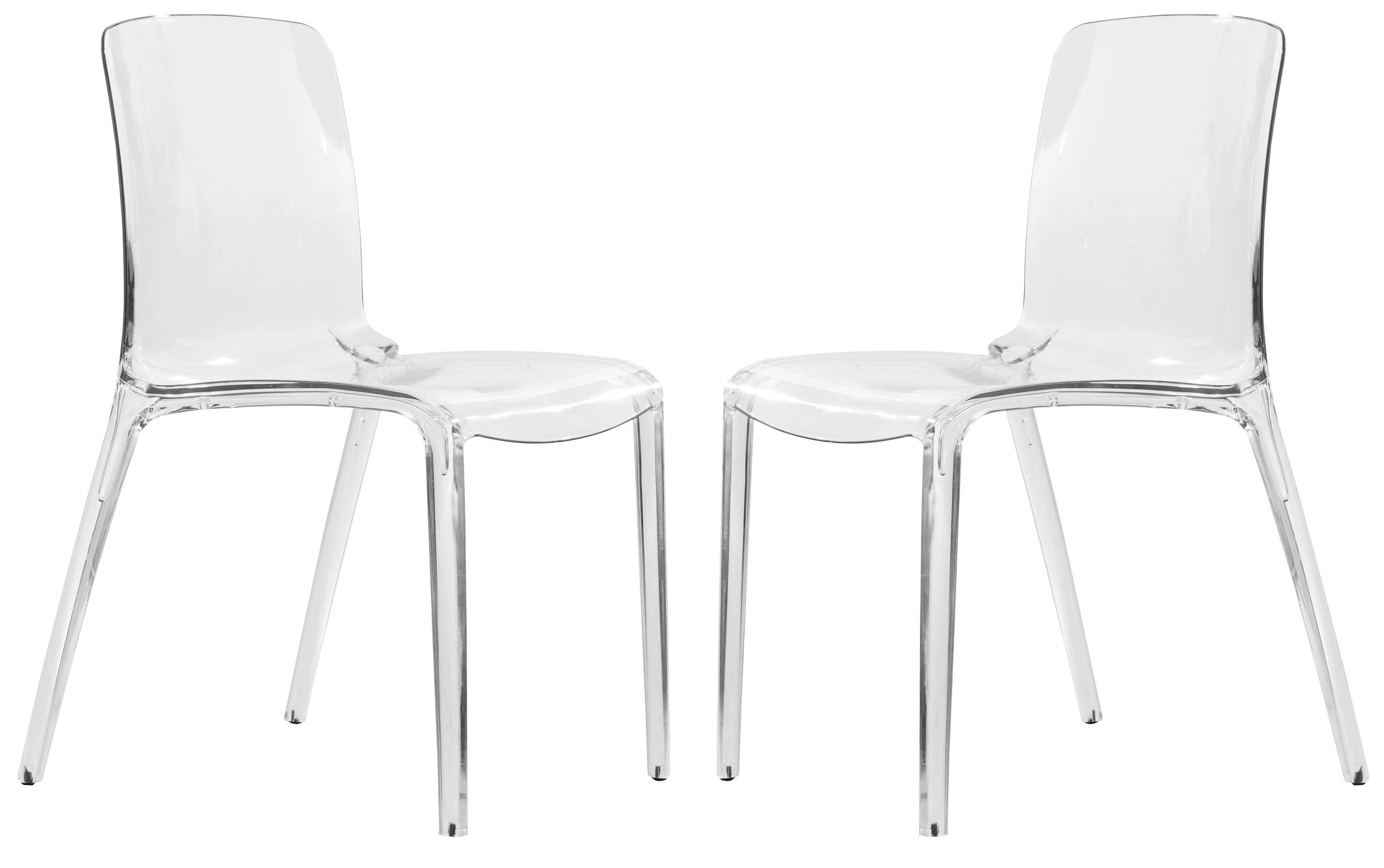 best website b9ee0 f82ca 2 LeisureMod Murray Clear Dining Chairs