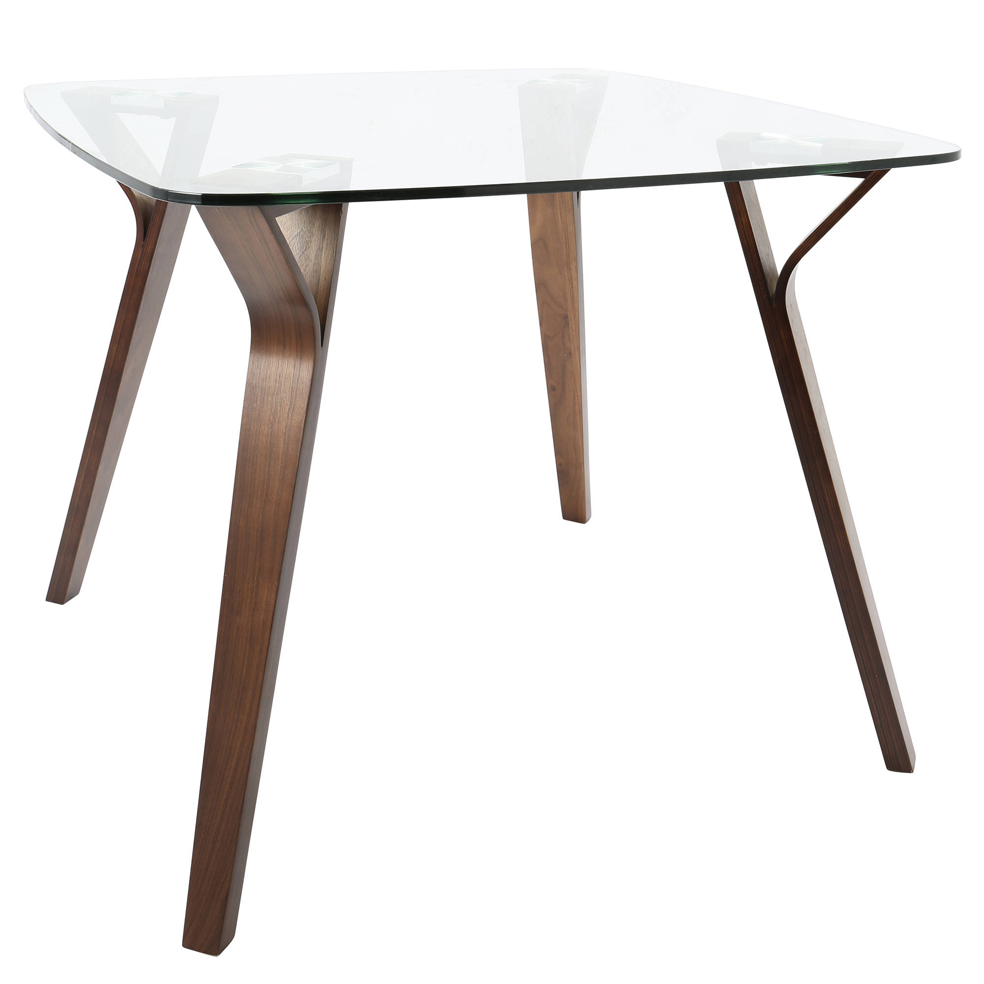 Next Metal And Glass Square Dining Set