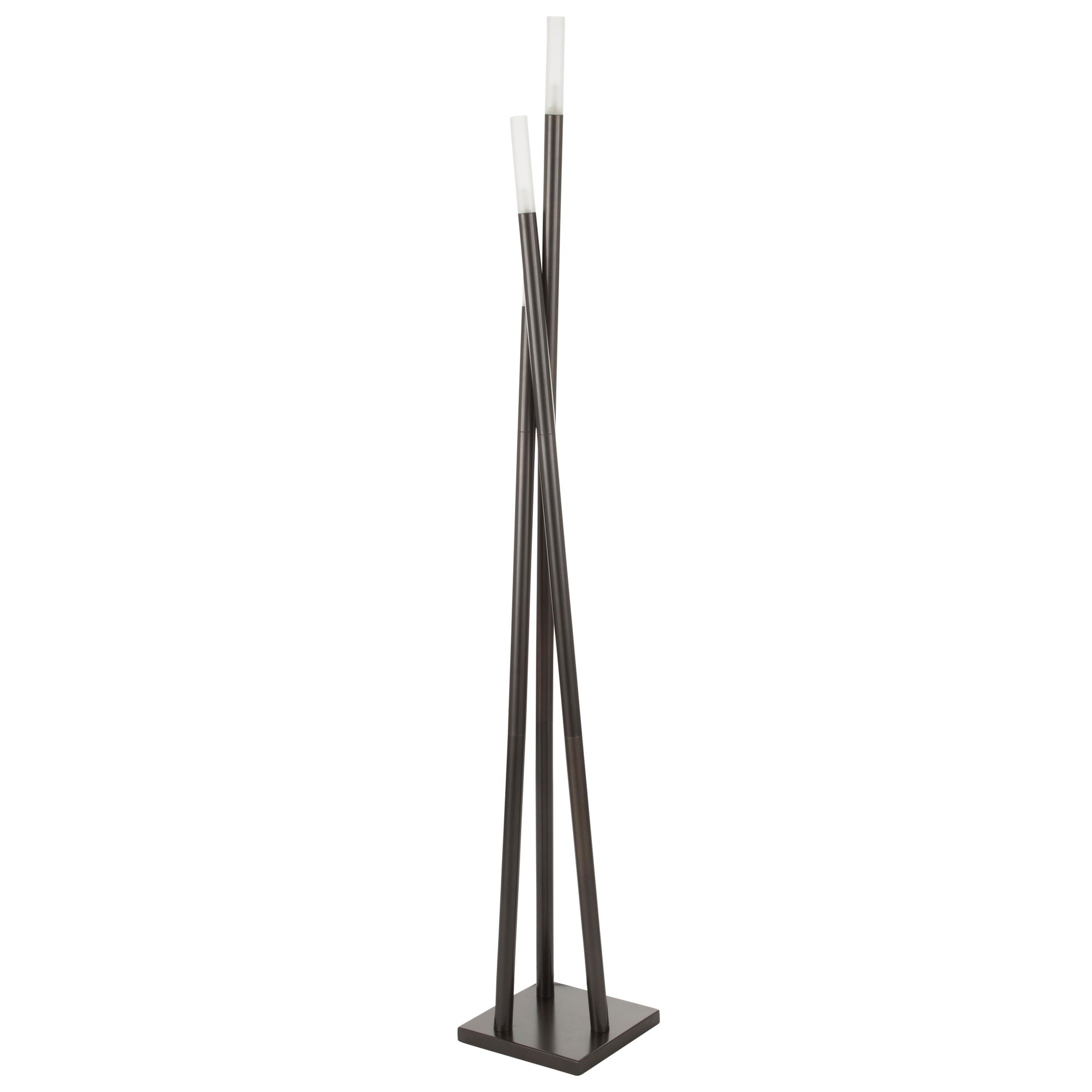 Click To Enlarge Loading Lumisource Icicle Antique Floor Lamp