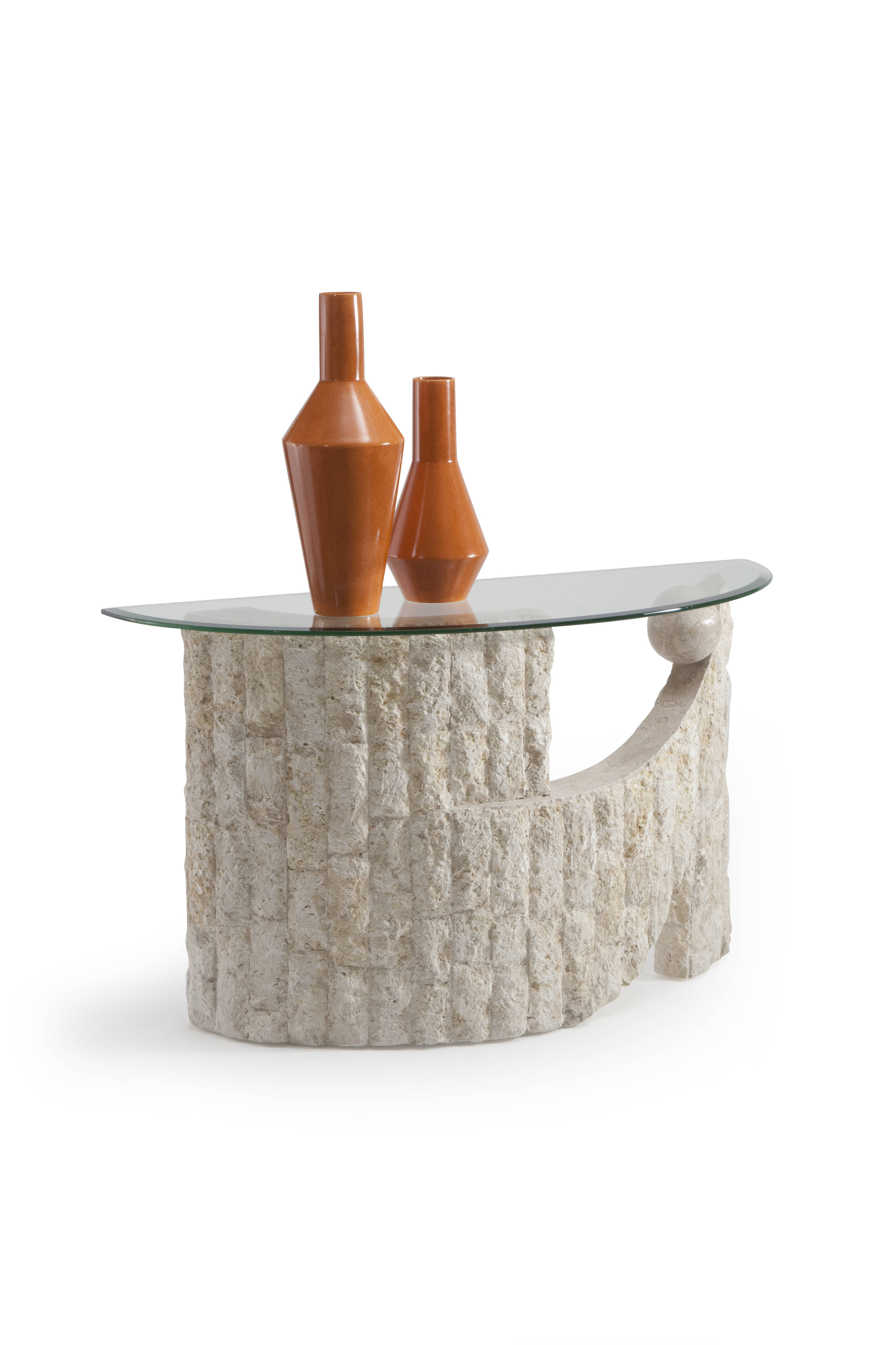 Magnussen Home Ponte Vedra Natural Sofa Table The Classy Home
