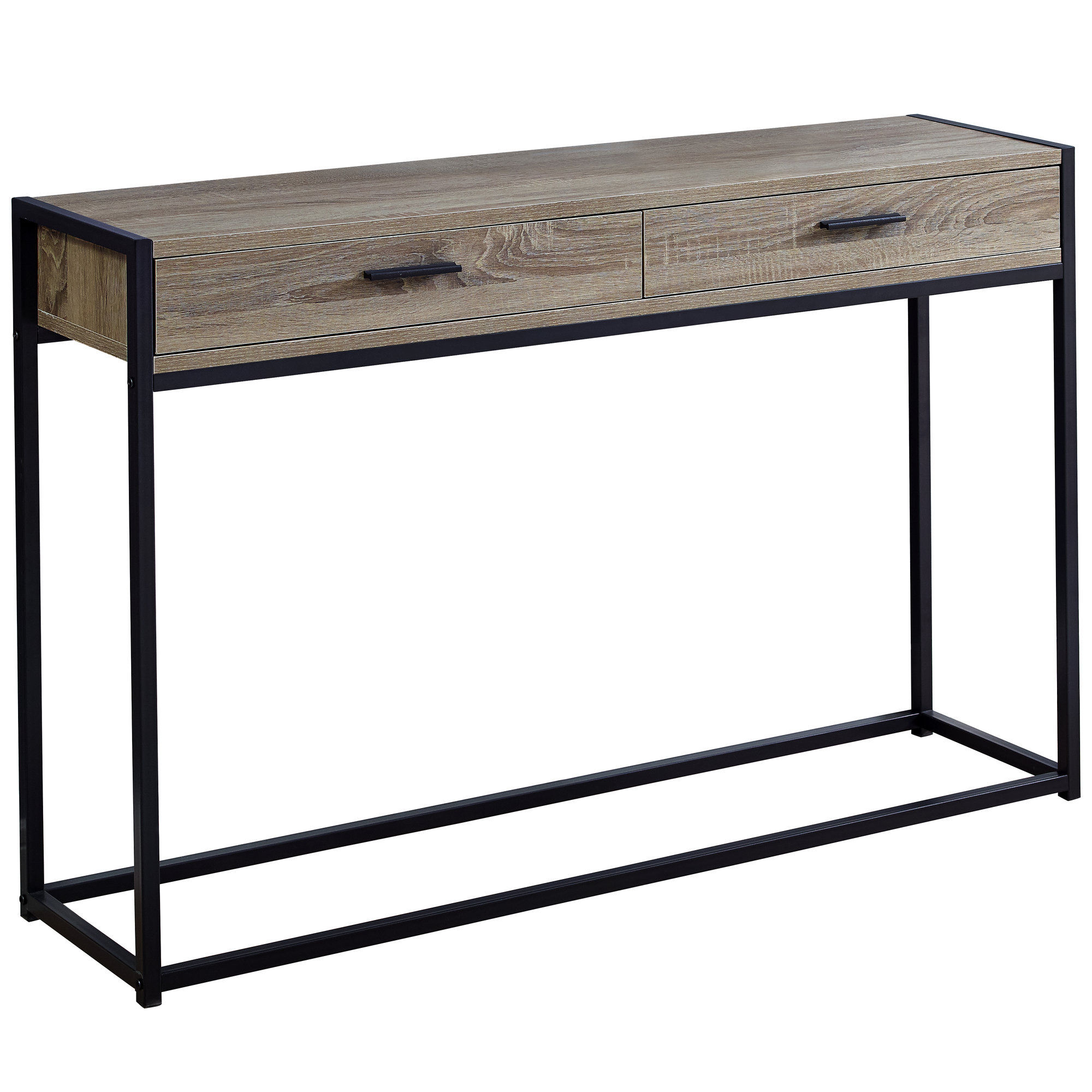 Monarch Specialties Taupe 48 Inch Sofa Table The Classy Home