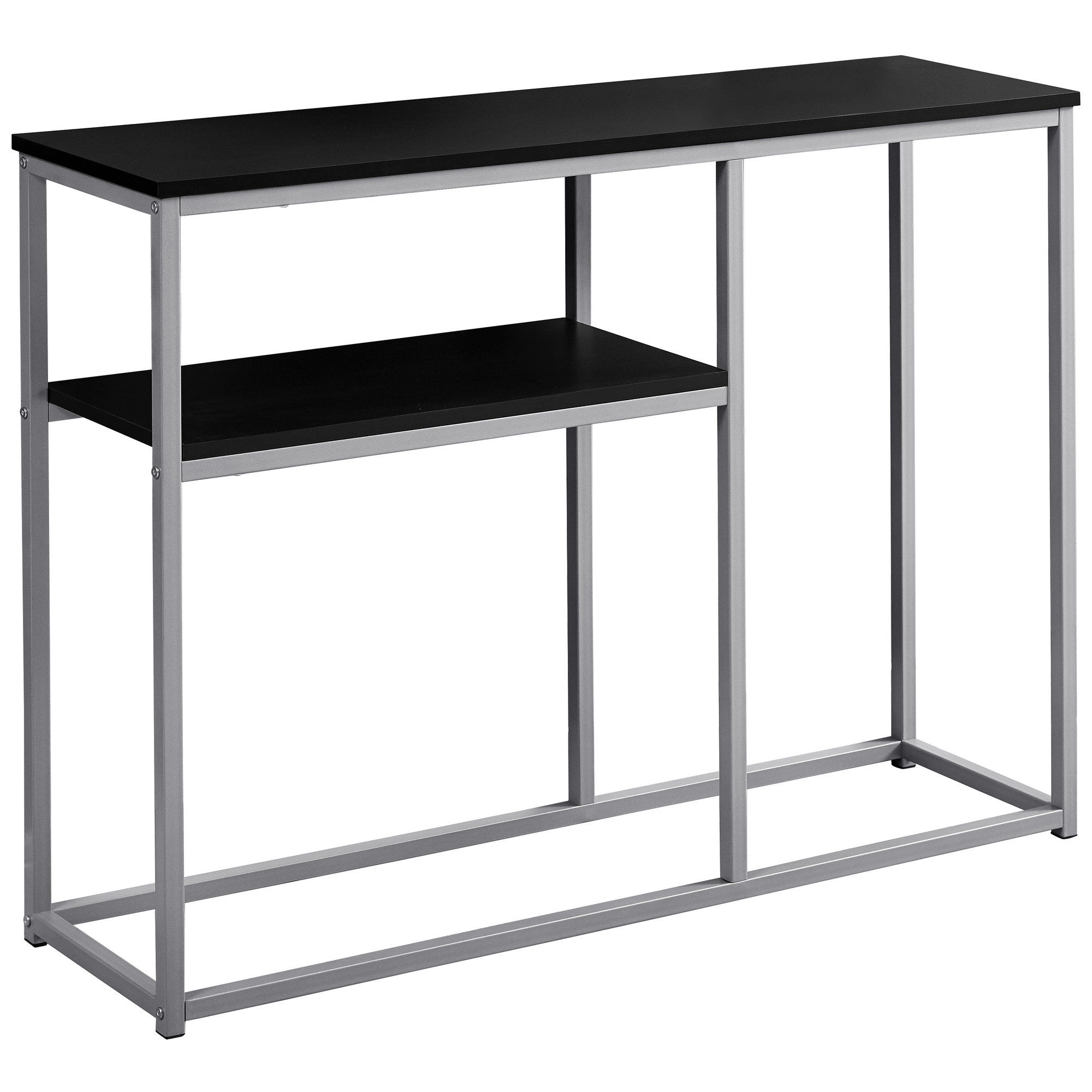 Awesome Monarch Specialties Black 42 Inch Sofa Table Machost Co Dining Chair Design Ideas Machostcouk