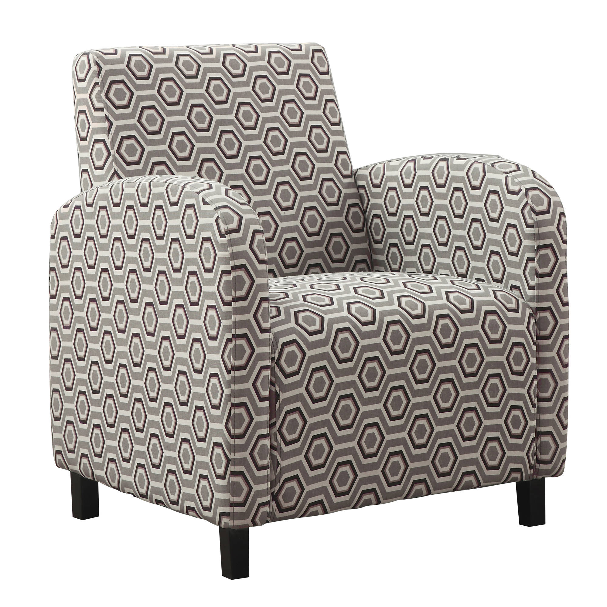 Admirable Monarch Specialties Brown Fabric Accent Chair Gmtry Best Dining Table And Chair Ideas Images Gmtryco