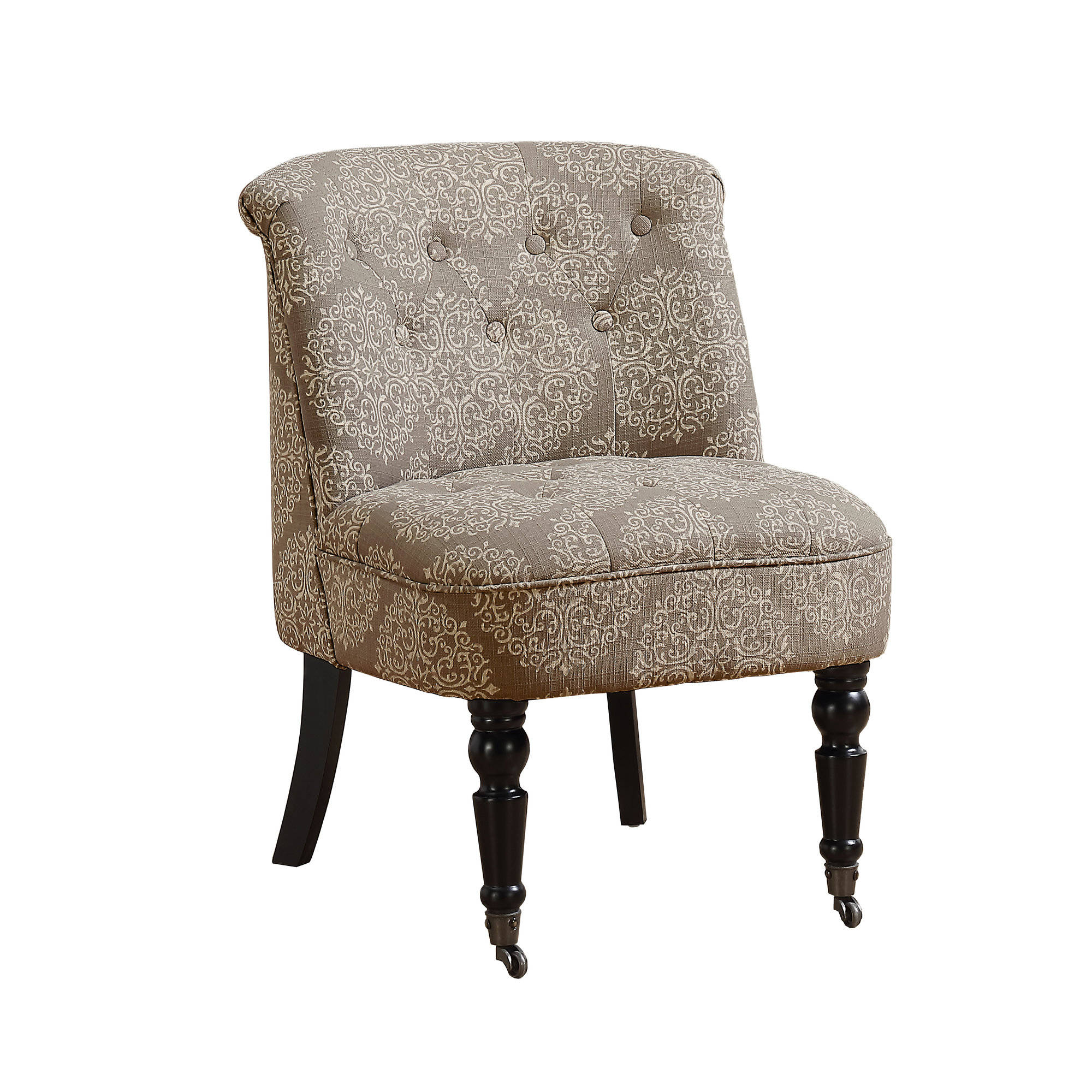 Monarch Specialties Taupe Fabric Accent Chair Click To Enlarge ...
