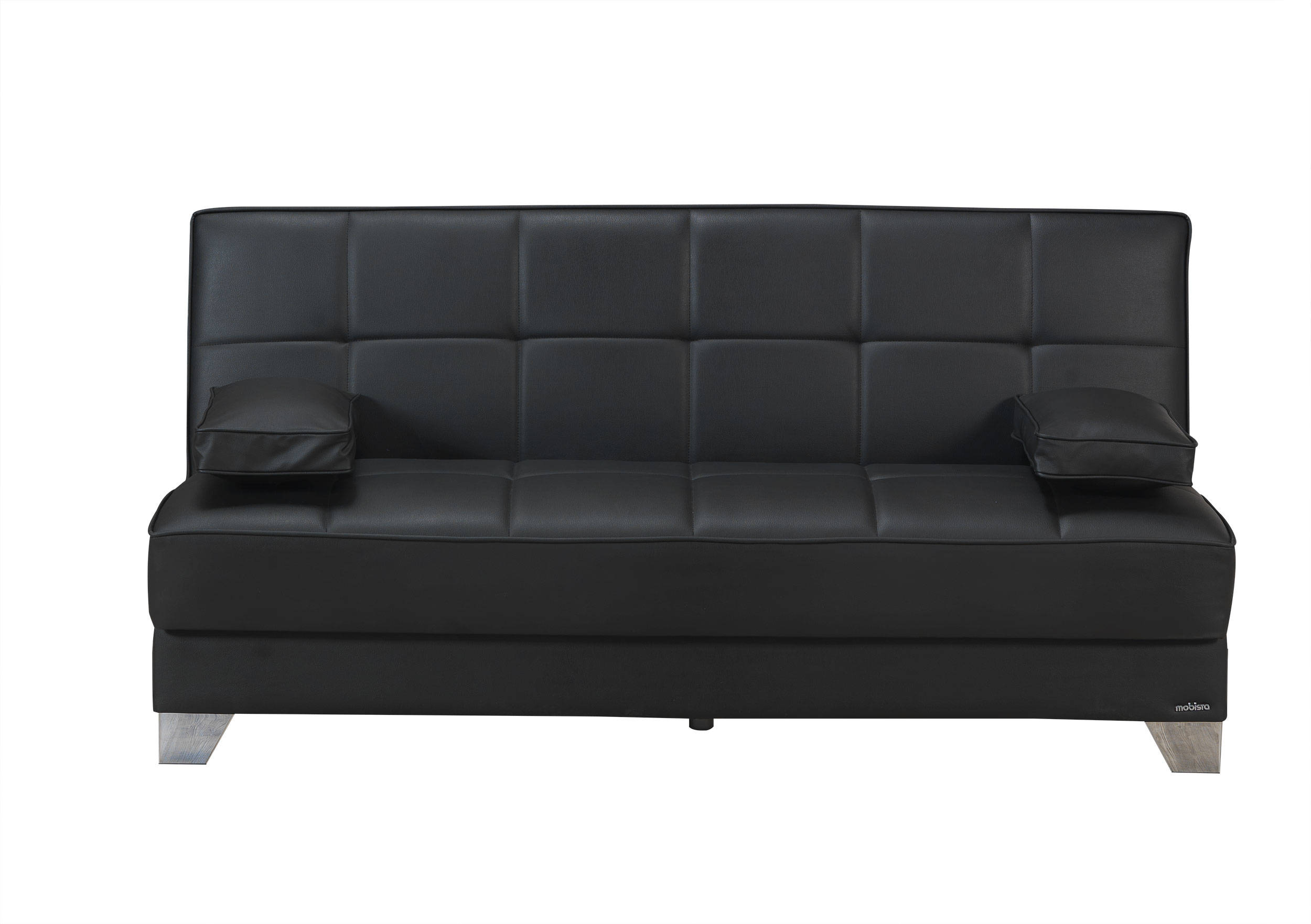 tribeca nyc prestige black faux leather mdf plywood sofa bed the rh theclassyhome com sofa bed disposal nyc best sofa bed nyc