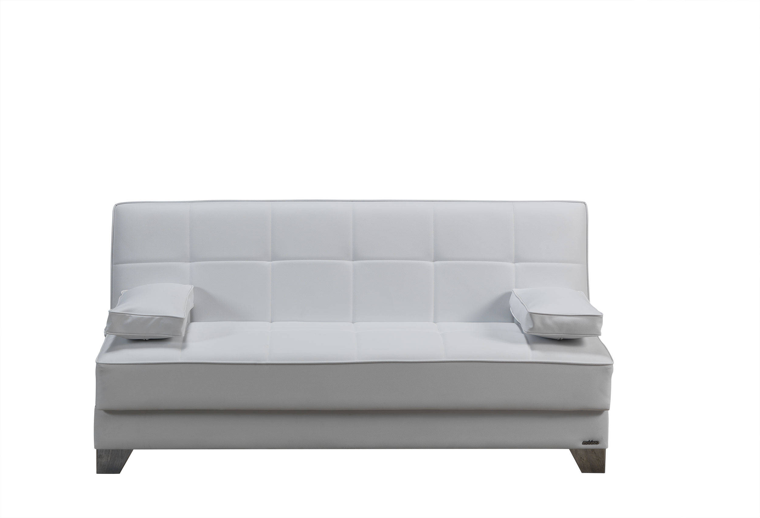 tribeca nyc prestige white faux leather mdf plywood sofa bed the rh theclassyhome com best sofa bed nyc sofa bed disposal nyc