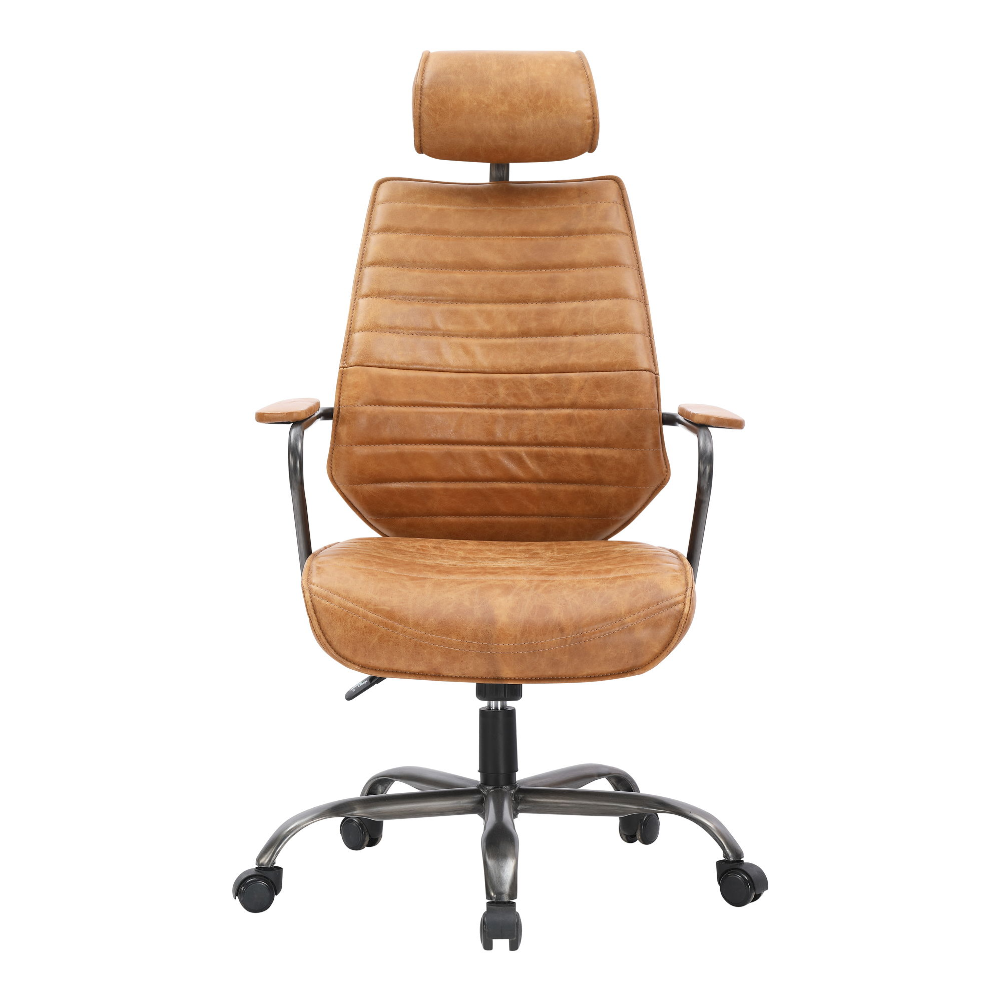 Incredible Moes Home Executive Orange Swivel Office Chair Ncnpc Chair Design For Home Ncnpcorg