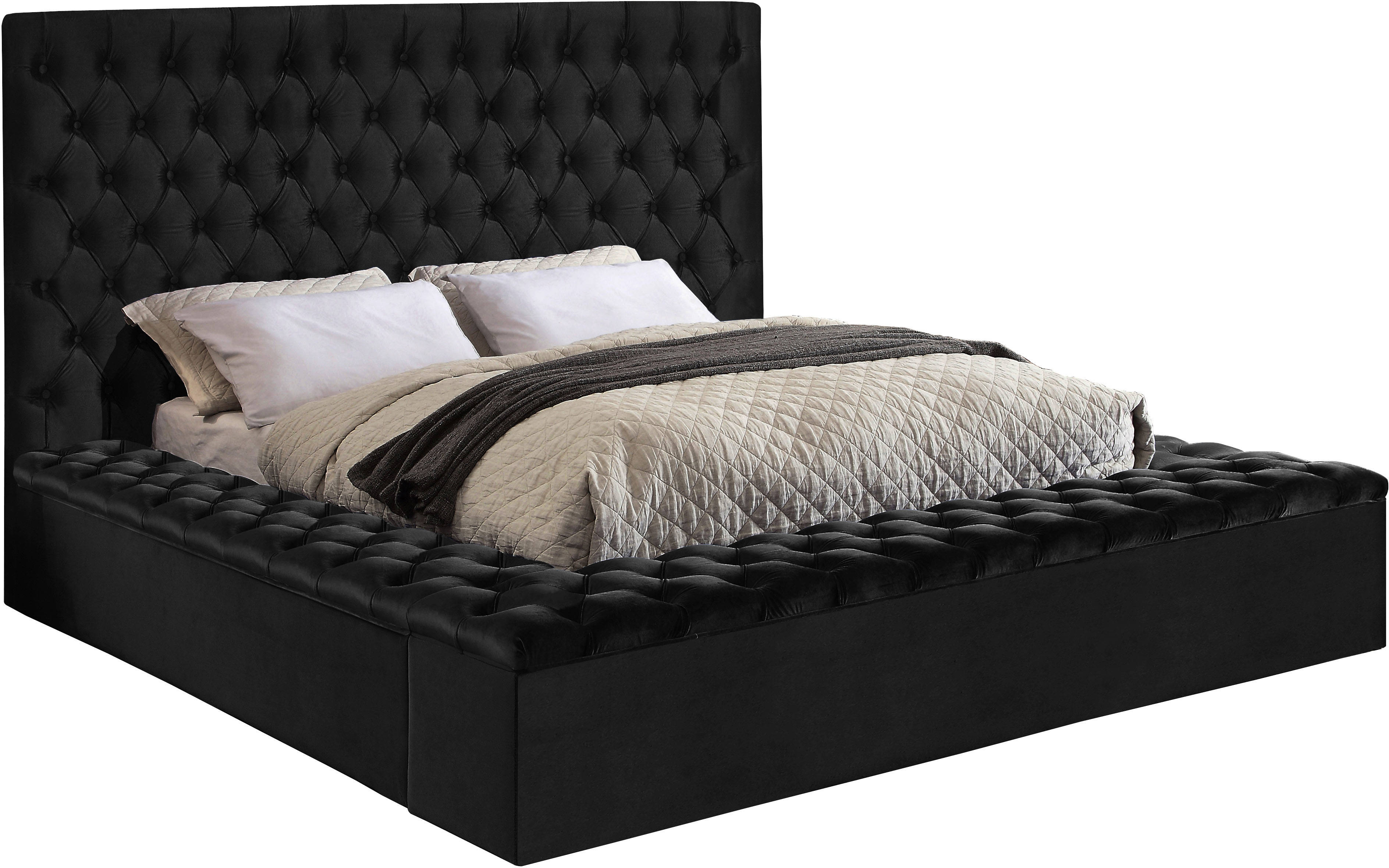 Delicieux Meridian Furniture Bliss Black Queen Bed Click To Enlarge ...