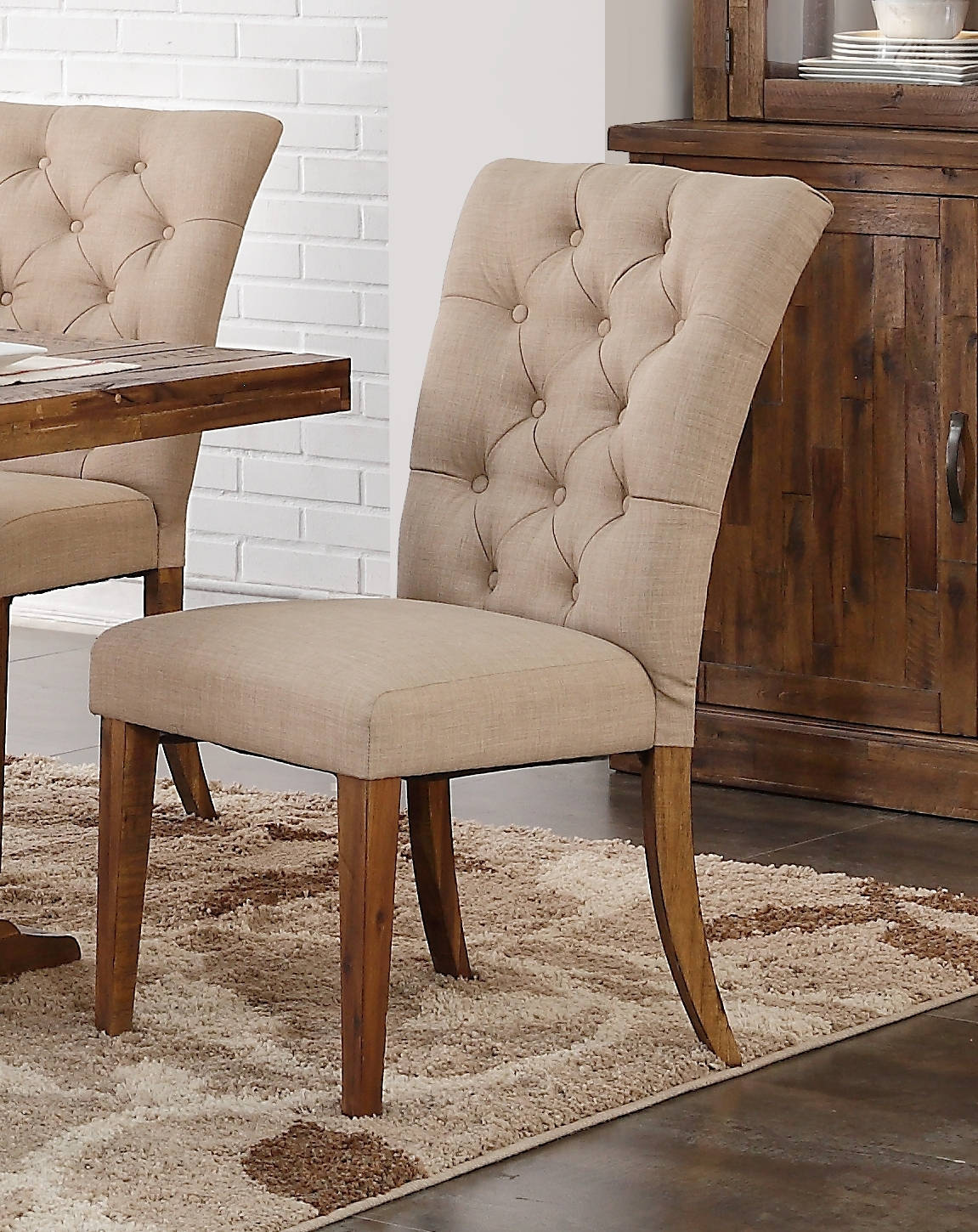 Excellent 2 New Classic Furniture Normandy Dining Chairs Squirreltailoven Fun Painted Chair Ideas Images Squirreltailovenorg