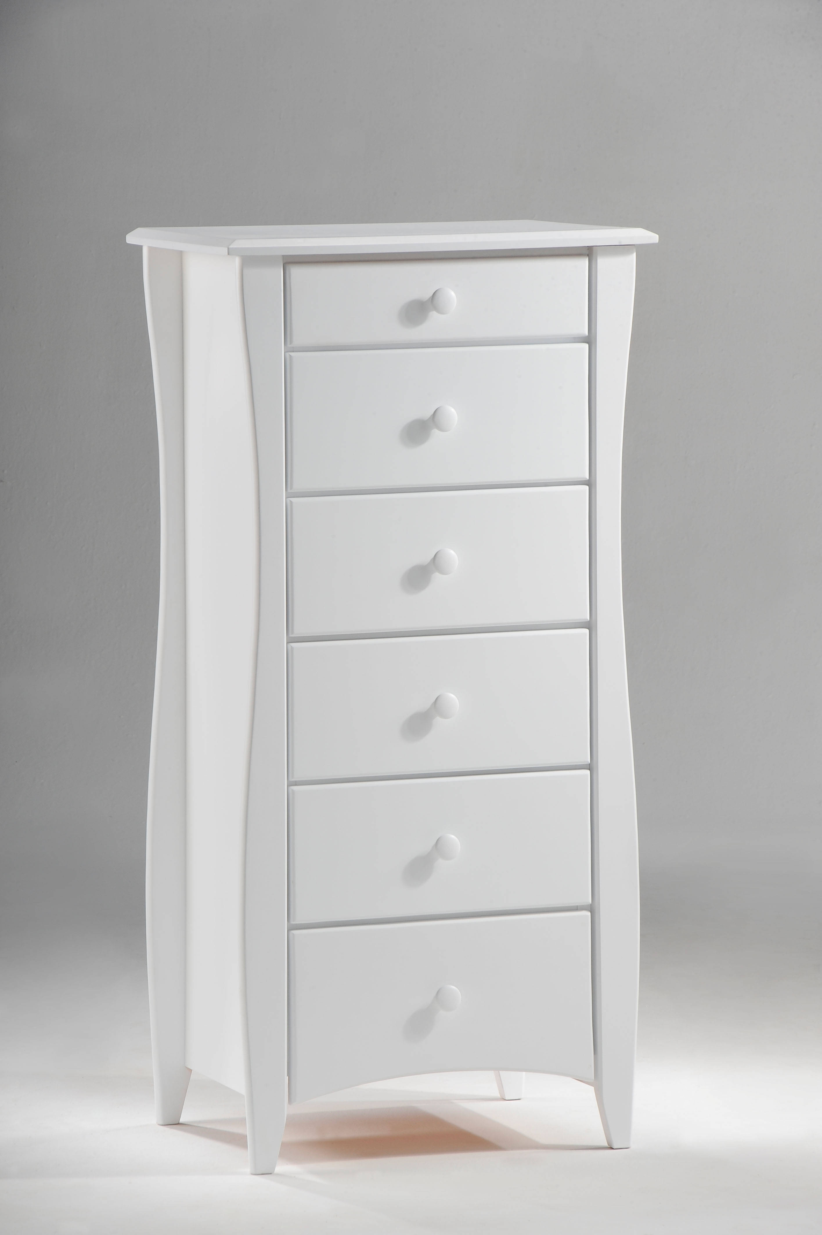 Night And Day Furniture Clove White Lingerie Chest The