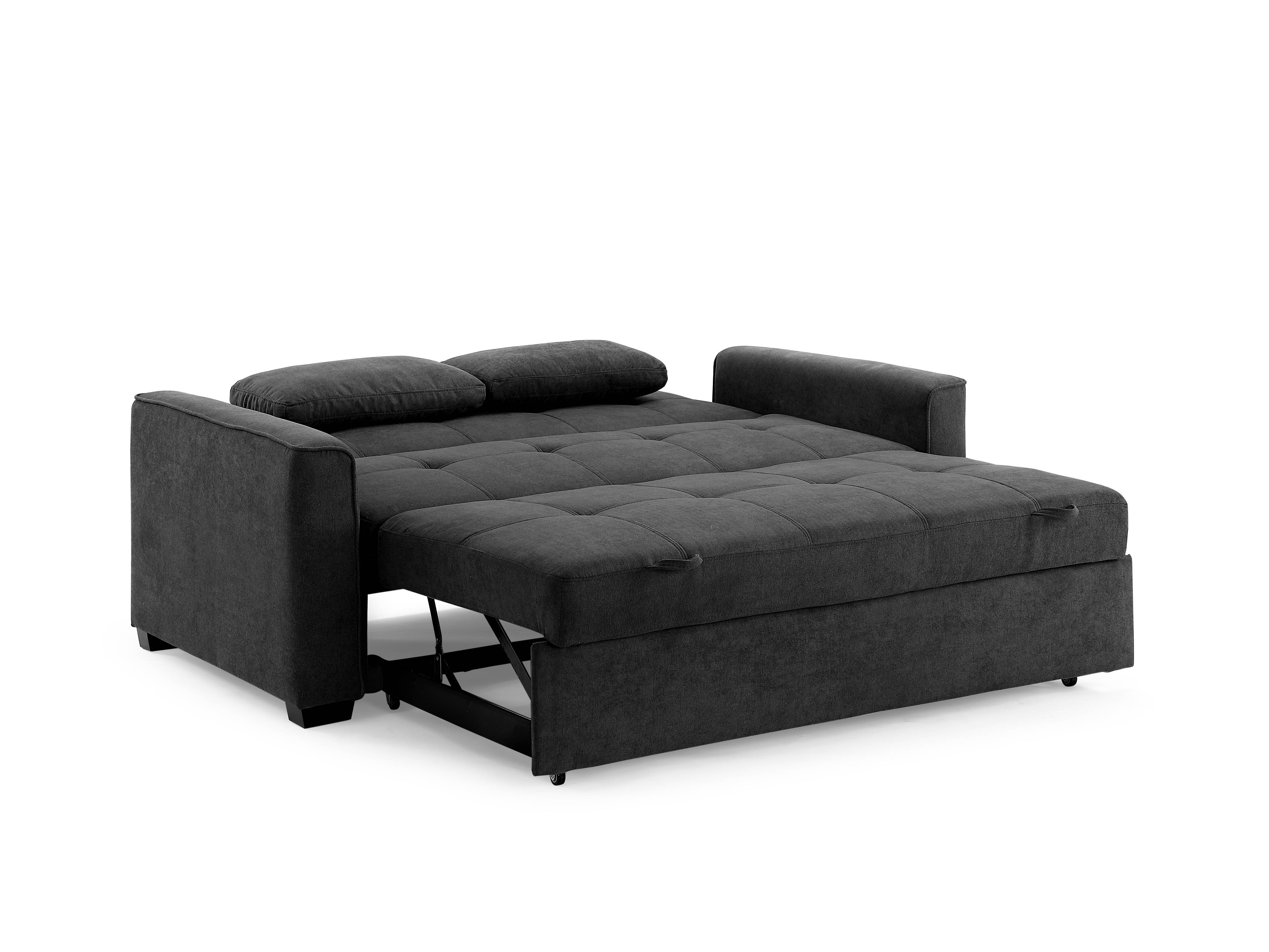 Awesome Night And Day Furniture Nantucket Charcoal Queen Sofa Bed Theyellowbook Wood Chair Design Ideas Theyellowbookinfo