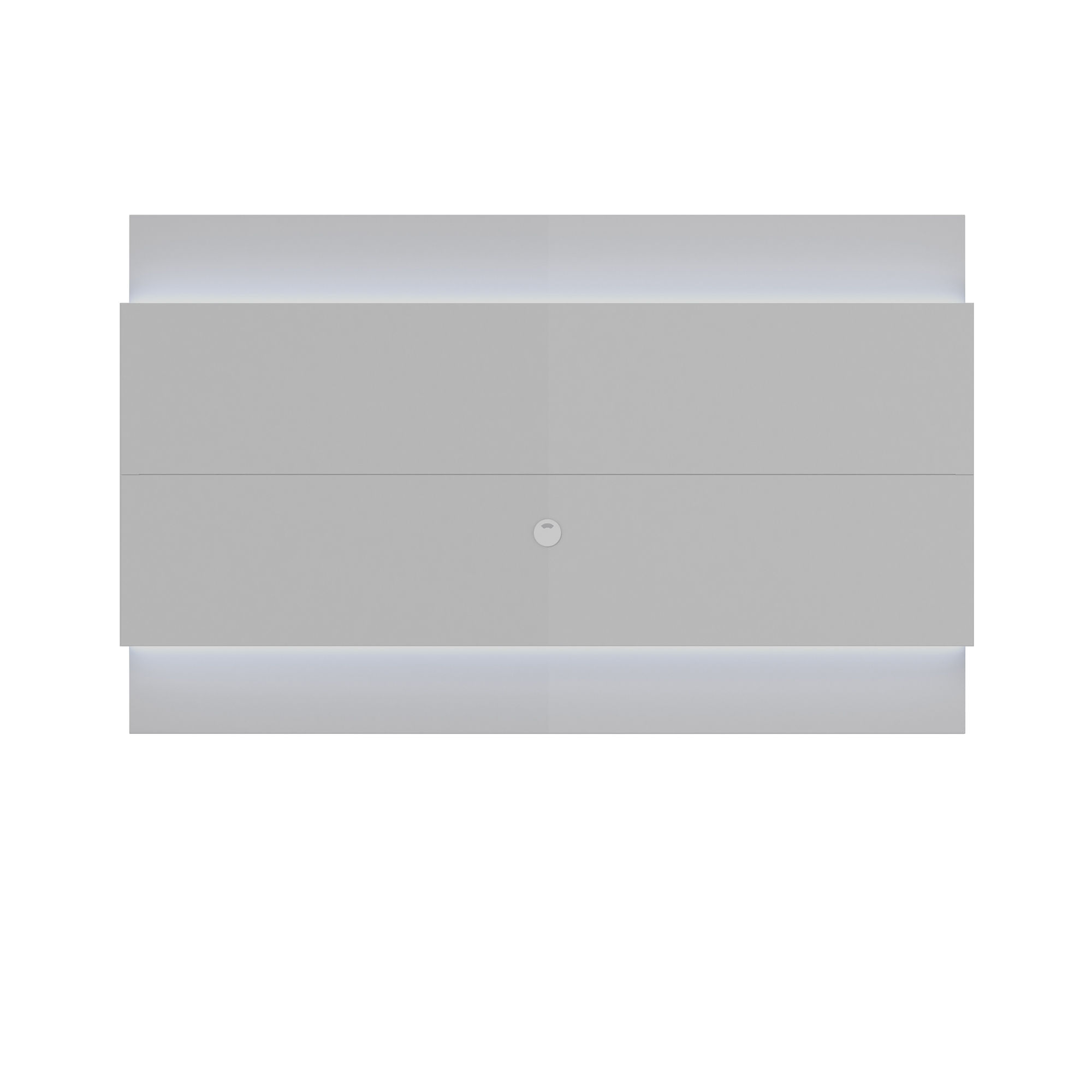Ocean Tailer White Gloss Floating Wall Tv Panel 22 With Led Lights