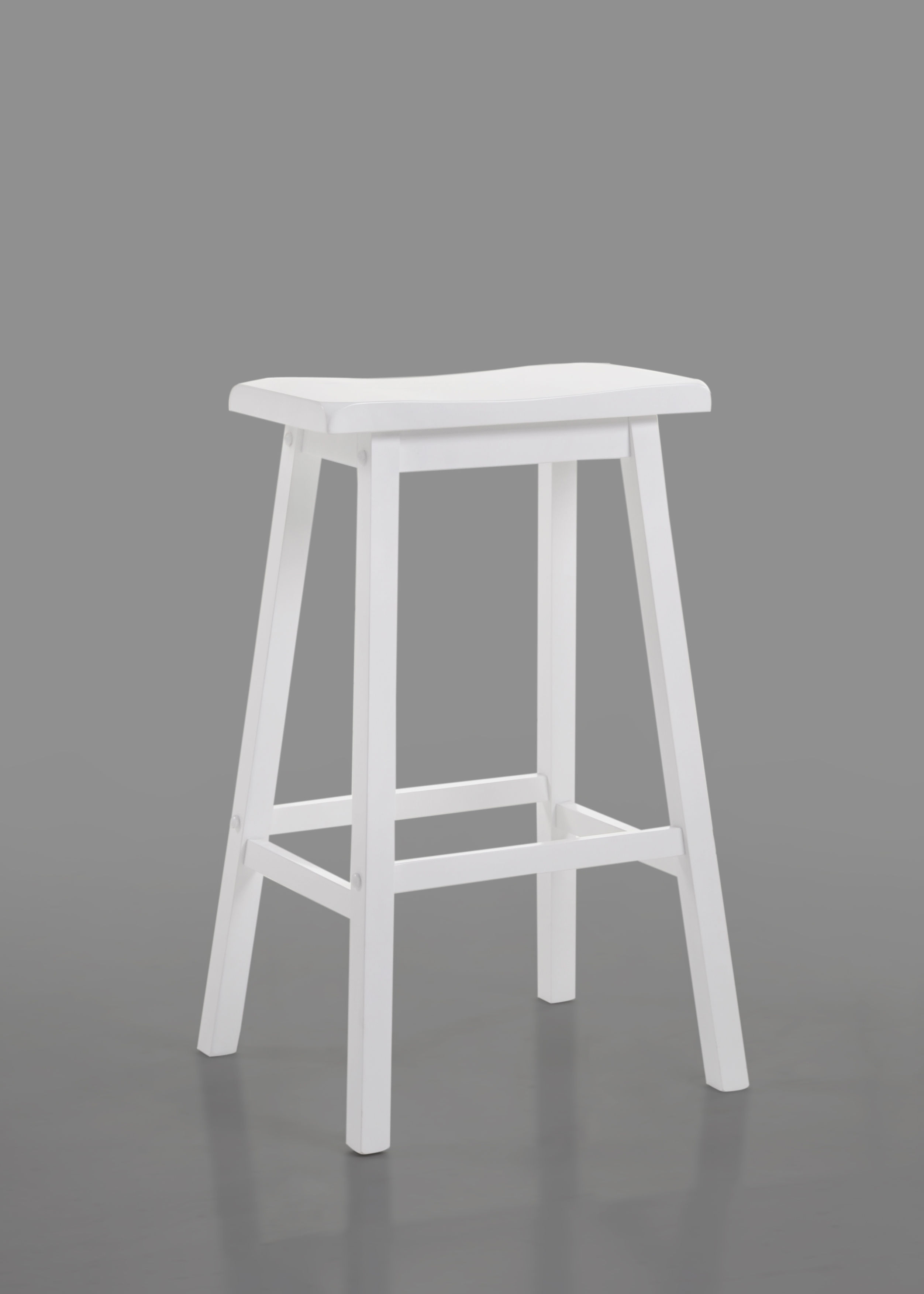 Home Roots White 29 Inch Bar Stool The Classy Home