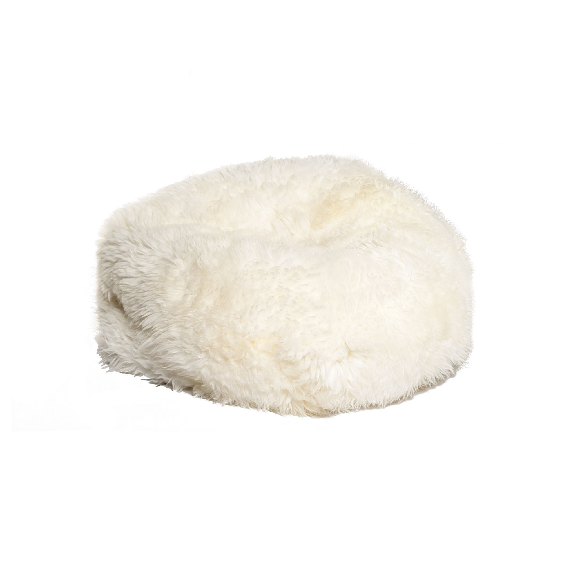 Enjoyable Home Roots White Sheepskin Bean Bag Chair The Classy Home Pdpeps Interior Chair Design Pdpepsorg