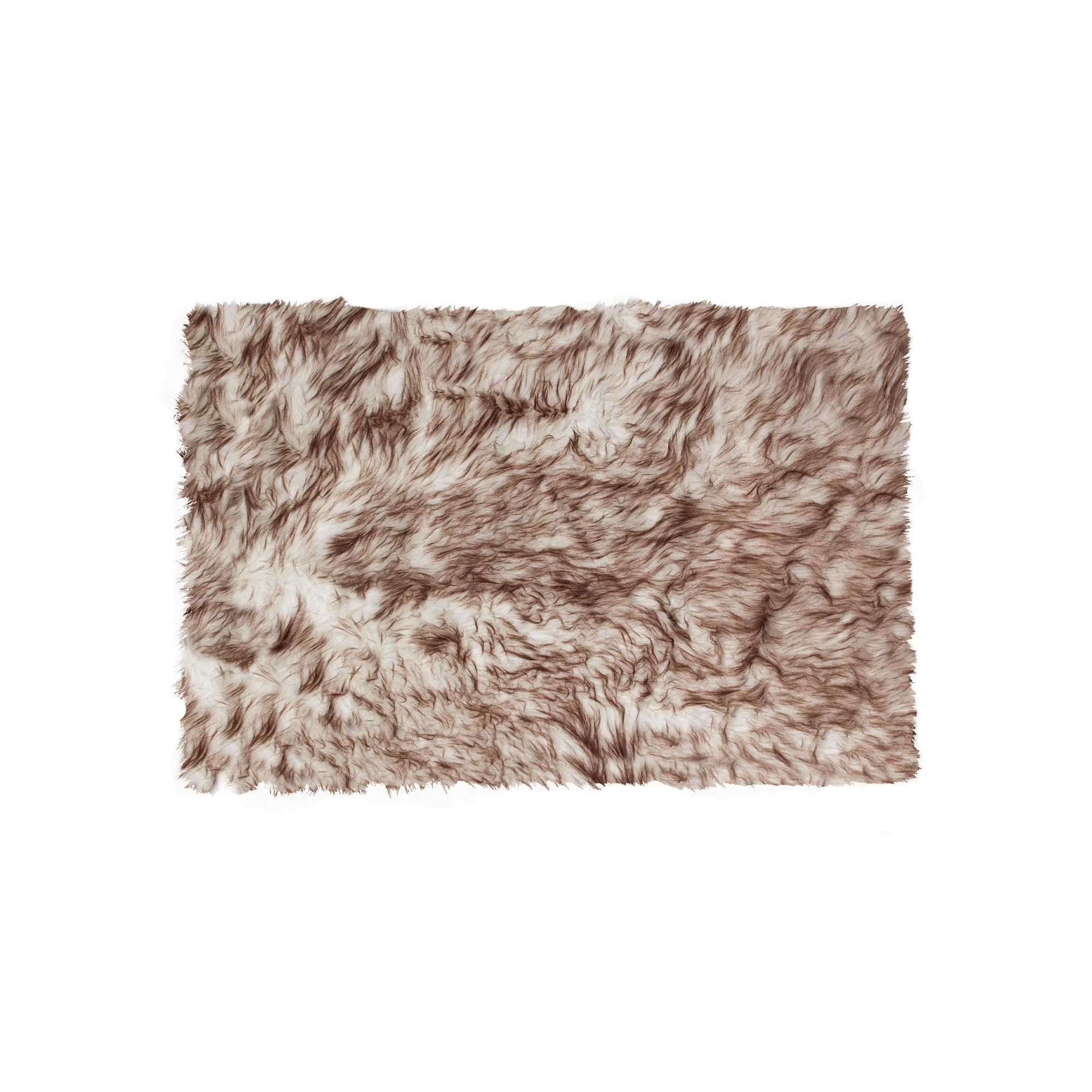 Home Roots Grant Chocolate Fur Sheepskin Rug Click To Enlarge