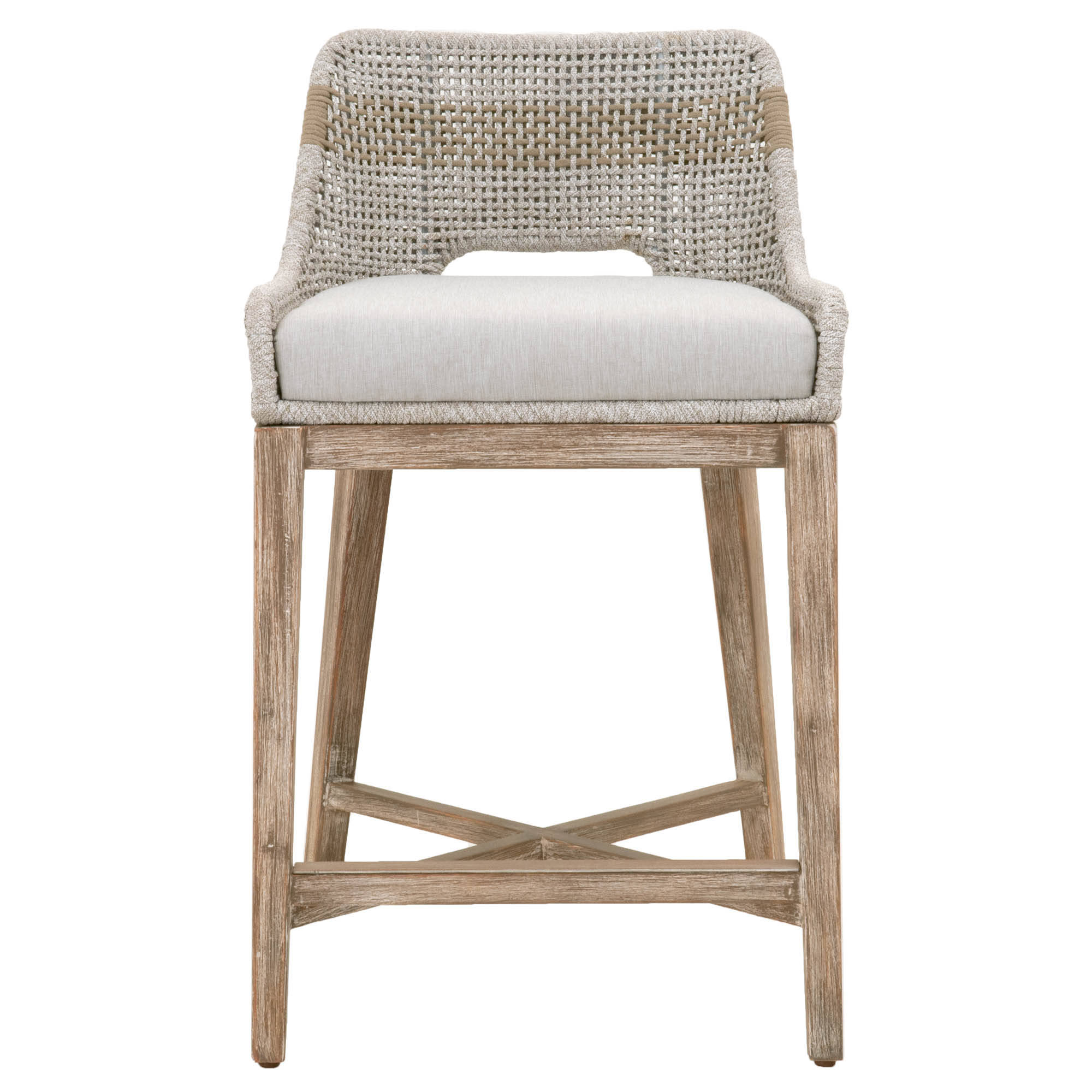 Orient Express Tapestry Natural Gray White Counter Stool | The ...