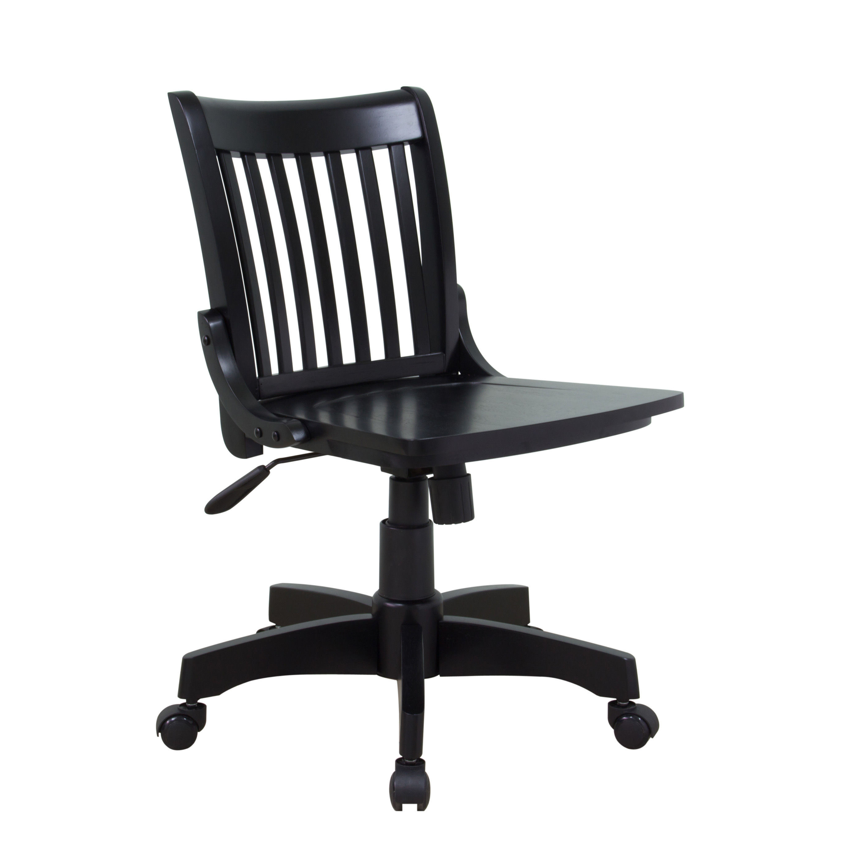 side office co chair front white nongzi armless