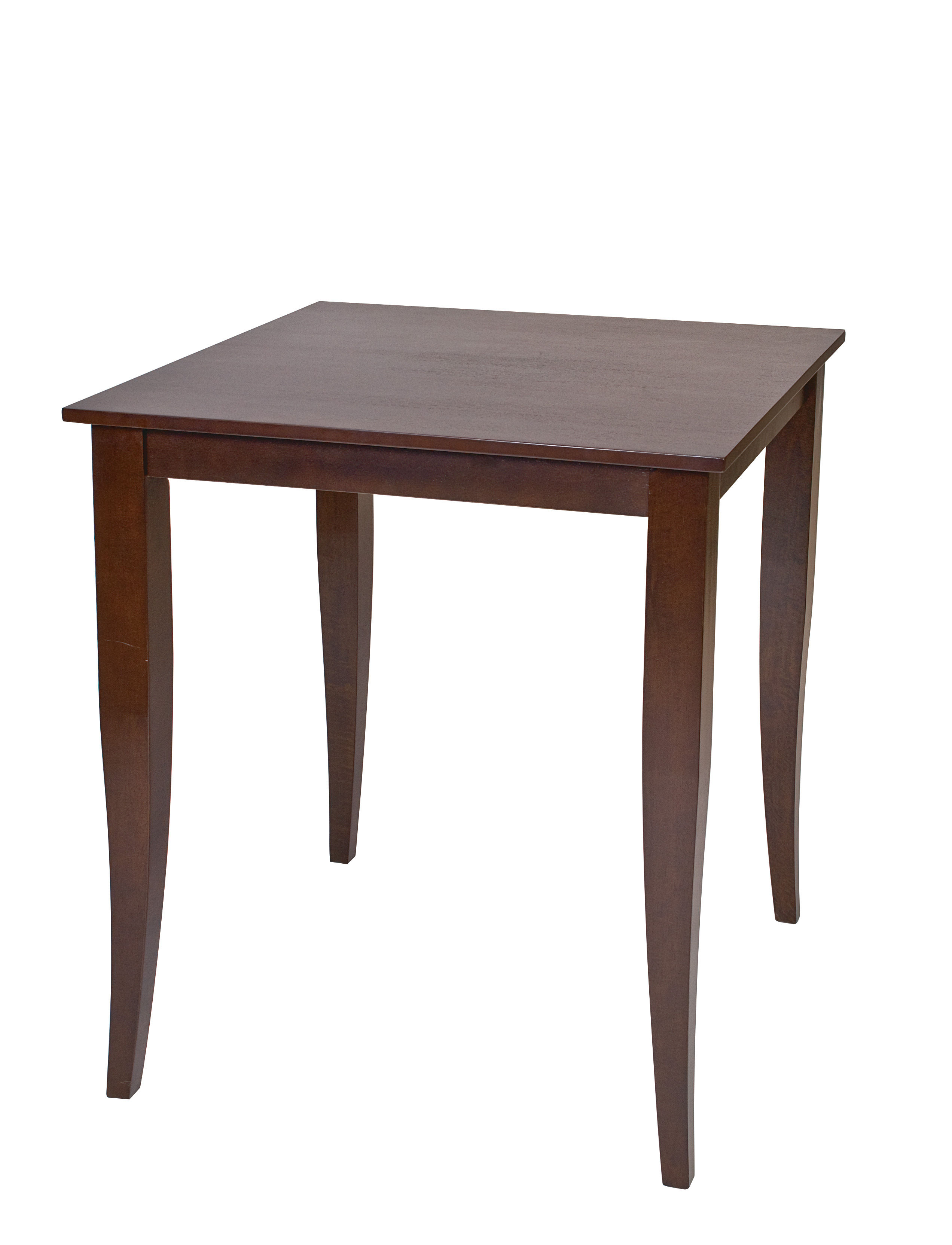 Jamestown Contemporary Espresso Wood Solid Top Pub Table The Classy Home