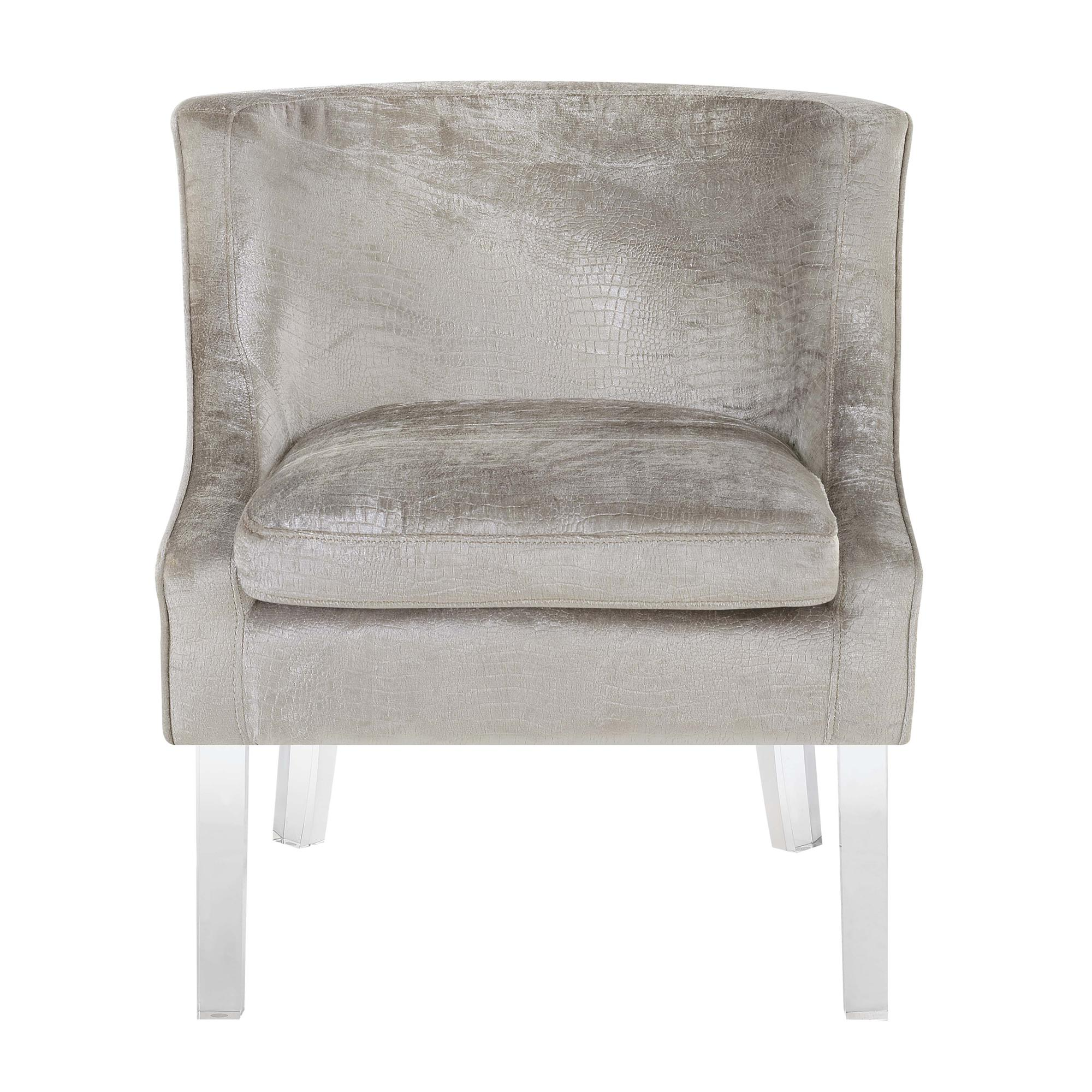 Picket House Tristan Beige Fabric Accent Chair The Classy Home