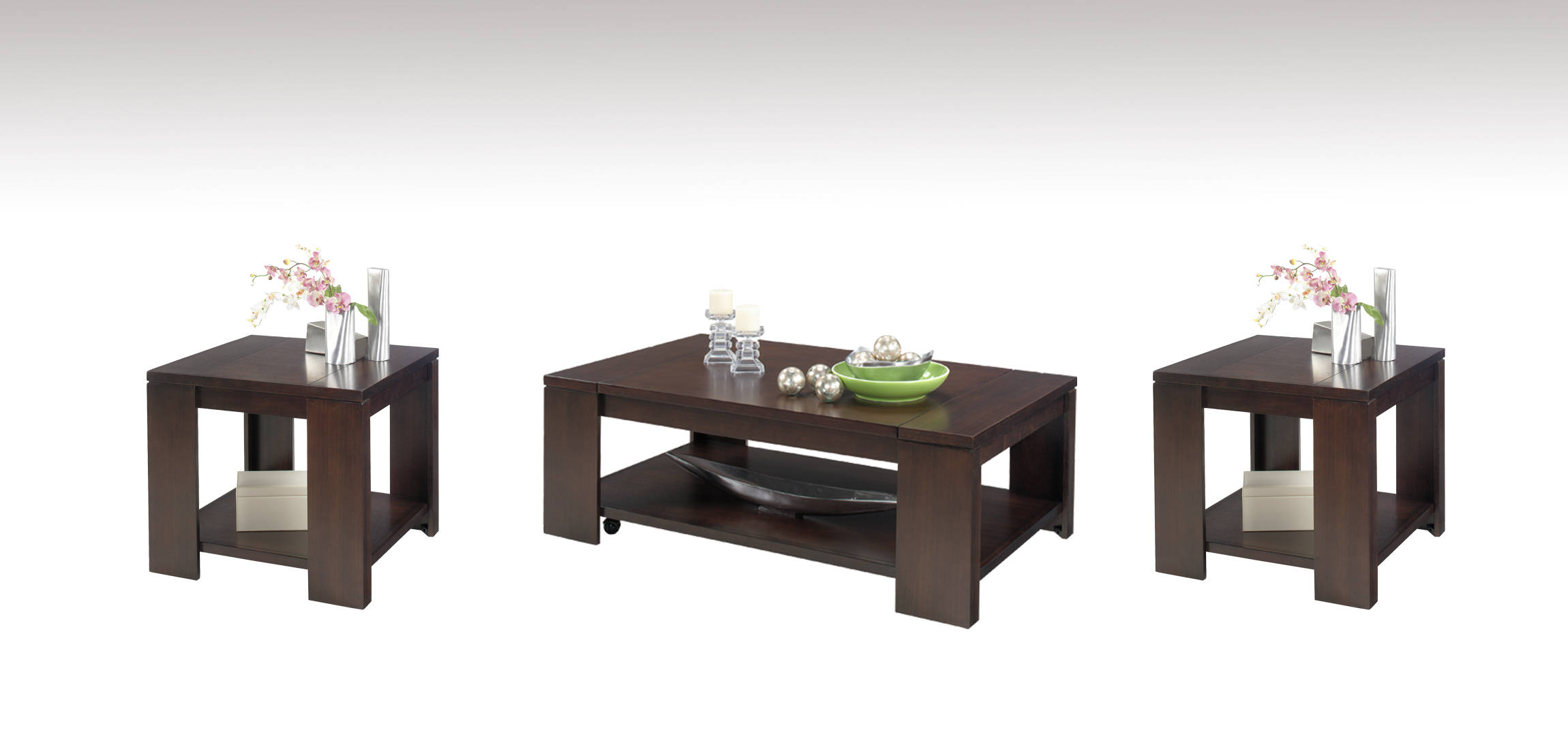 Terrific Progressive Furniture Waverly Lift Top 3Pc Coffee Table Set Pabps2019 Chair Design Images Pabps2019Com
