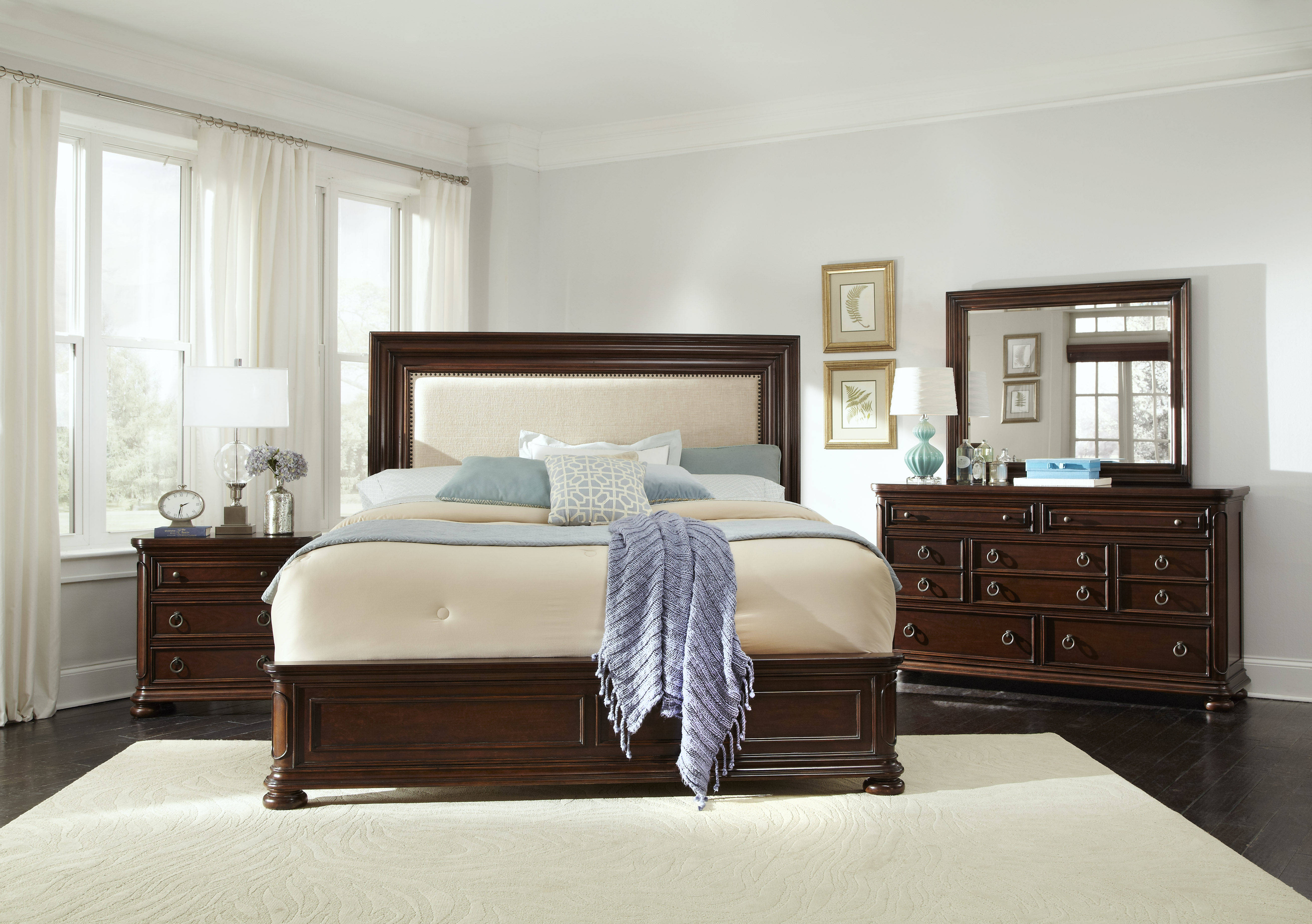 chandler traditional brown wood master bedroom sets the classy home the classy home best