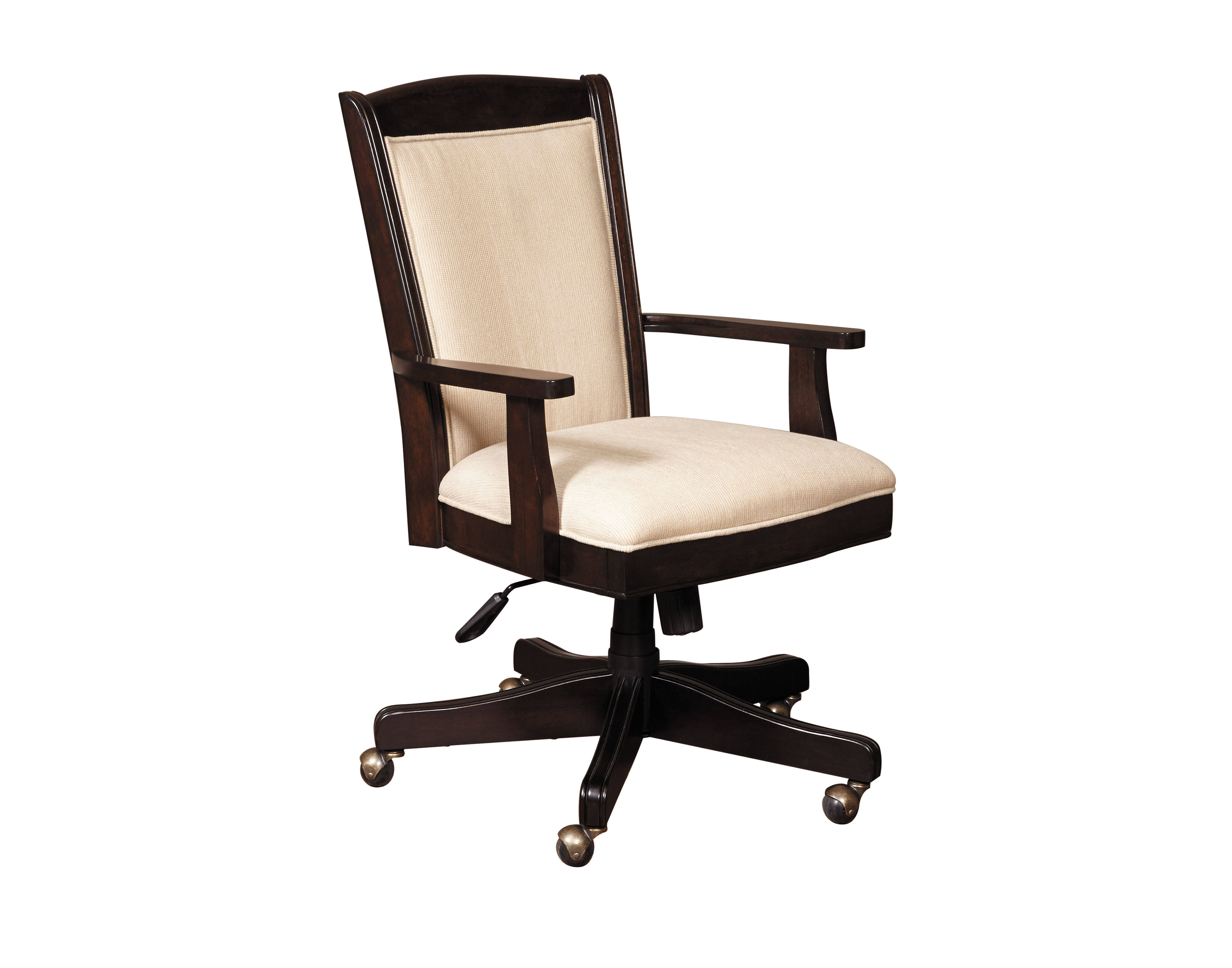 Home Meridian Homework Brown 2 0 Executive Desk Chair