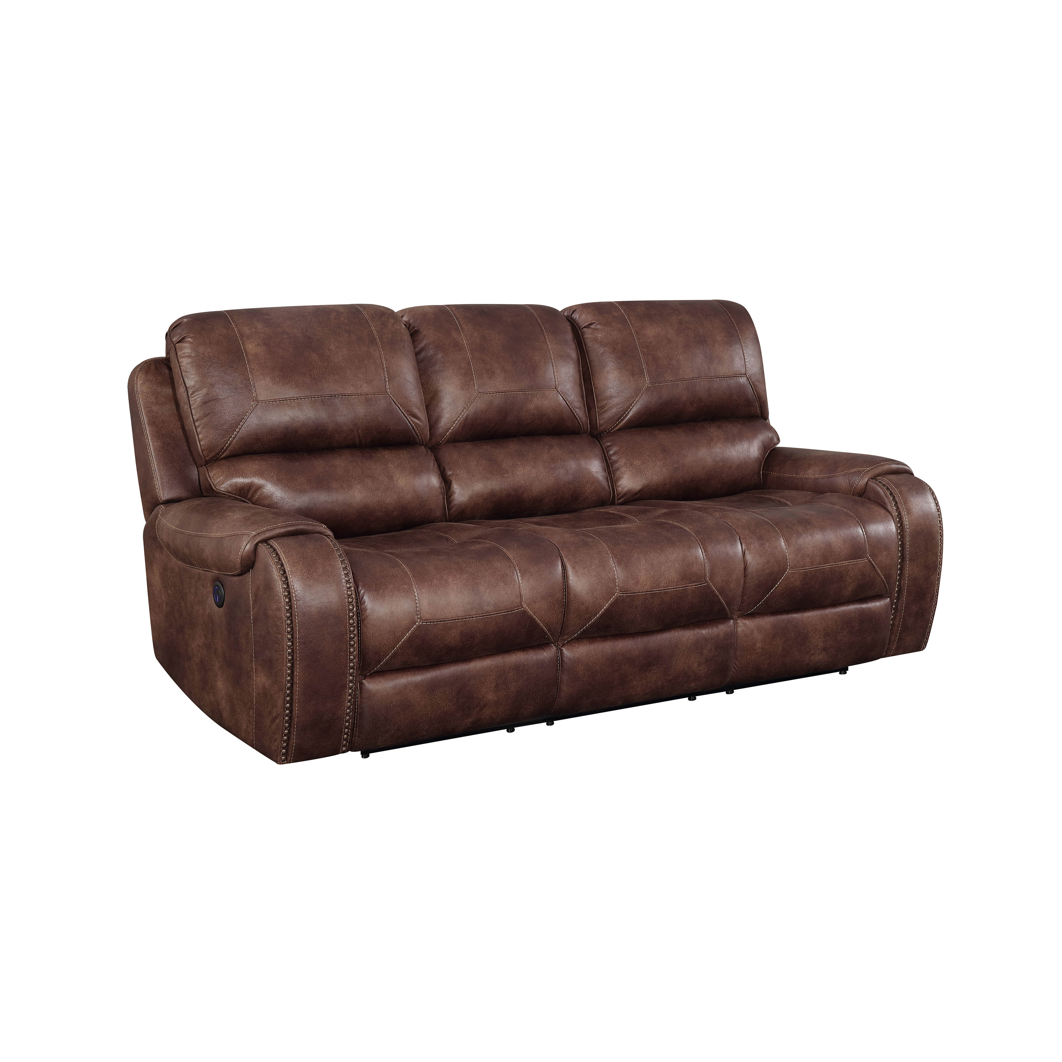 Astonishing Home Meridian Jennings Mocha Power Reclining Sofa The Gmtry Best Dining Table And Chair Ideas Images Gmtryco