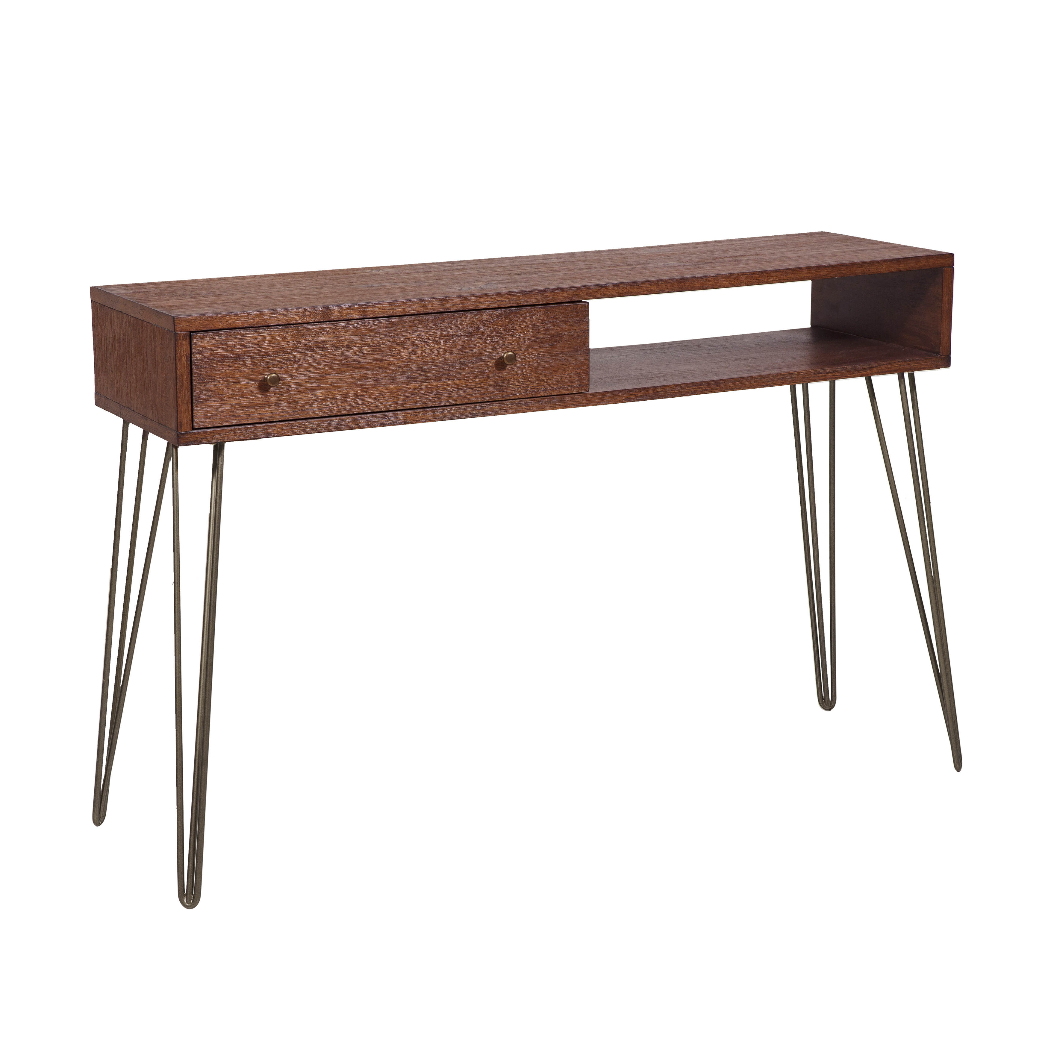 Pulaski Furniture Brown Accent Console Table Click To Enlarge ...