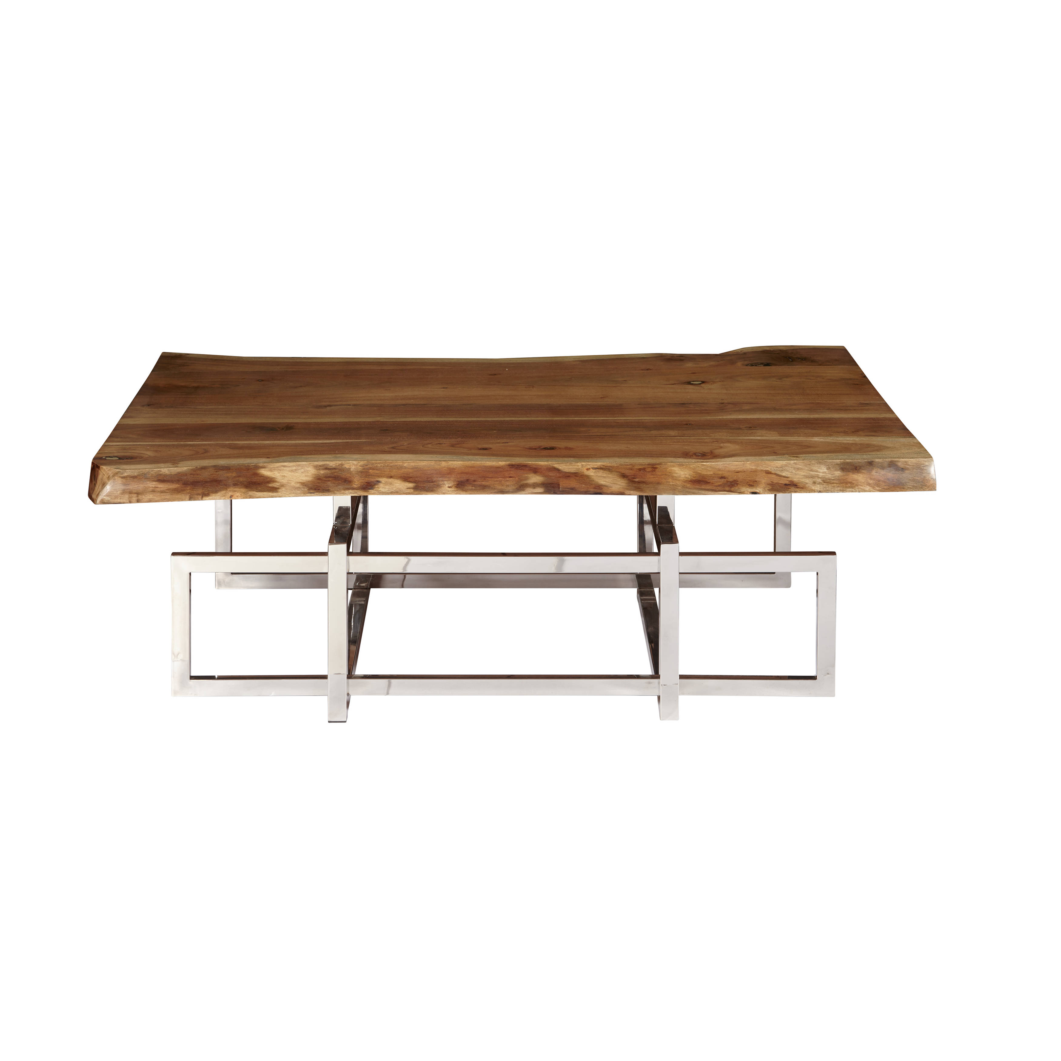Home Meridian Alistar Brown Cocktail Table